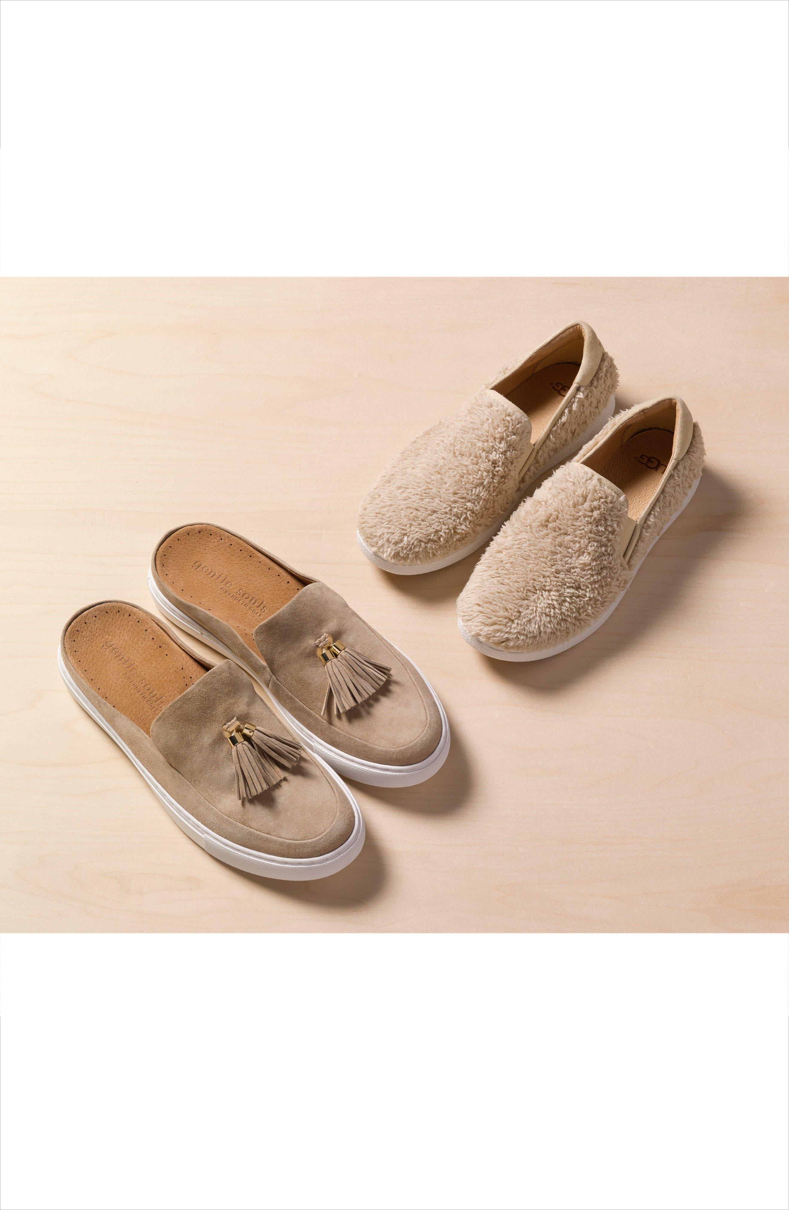 Ricci Plush Slip-On Sneaker,                             Alternate thumbnail 7, color,