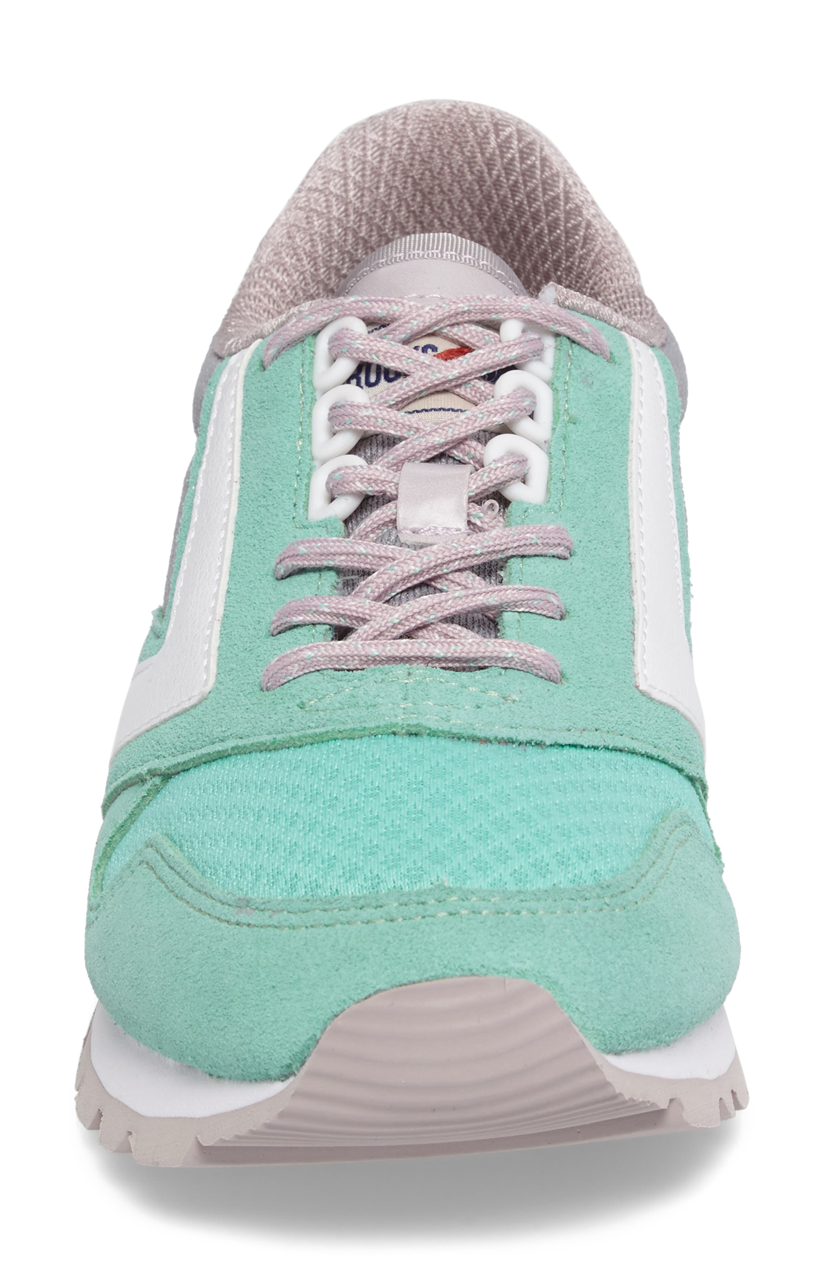 'Chariot' Sneaker,                             Alternate thumbnail 4, color,                             Cloud Grey/ Cabbage