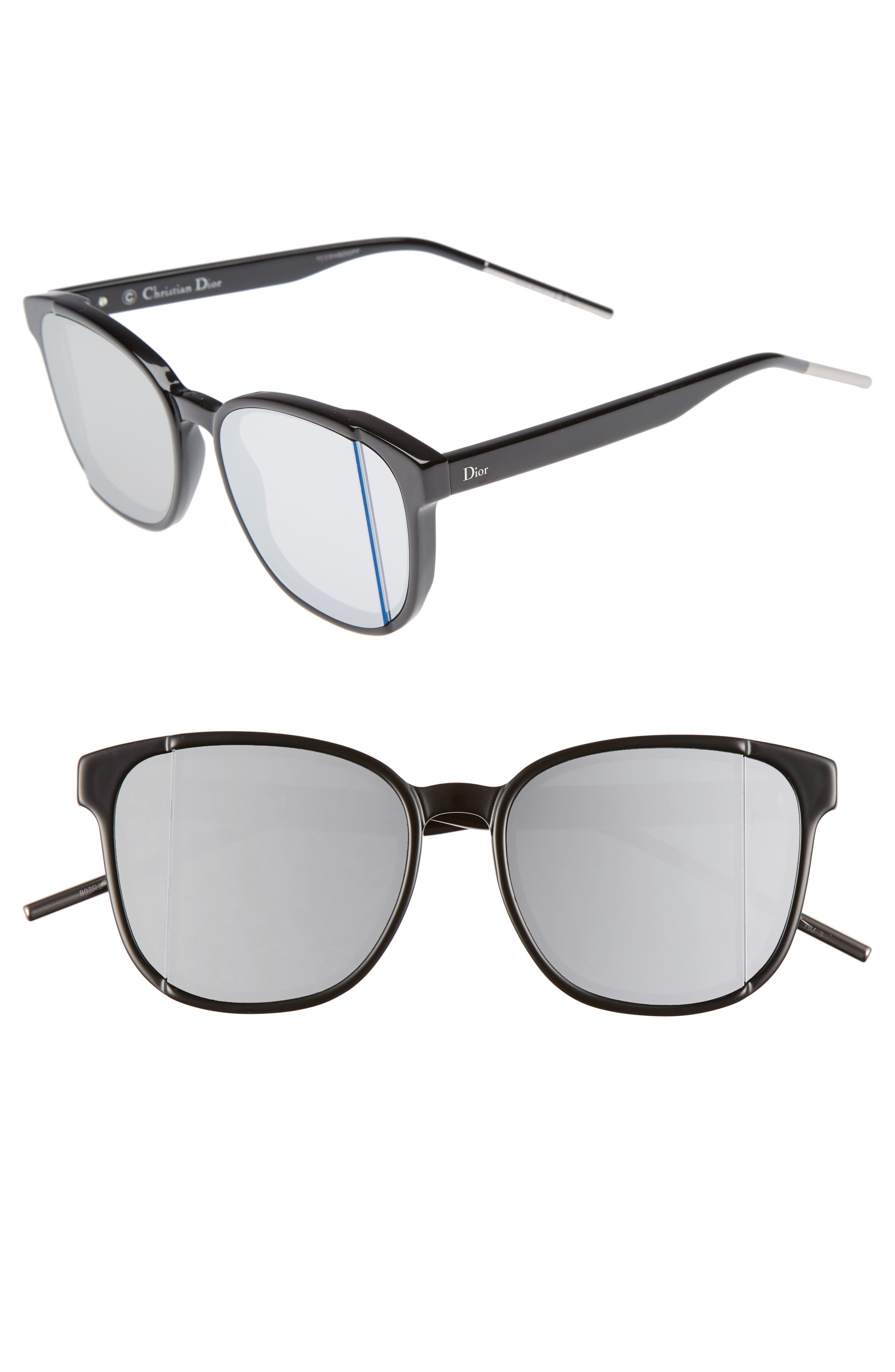 Alternate Image 1 Selected - Dior Dior Steps 55mm Sunglasses