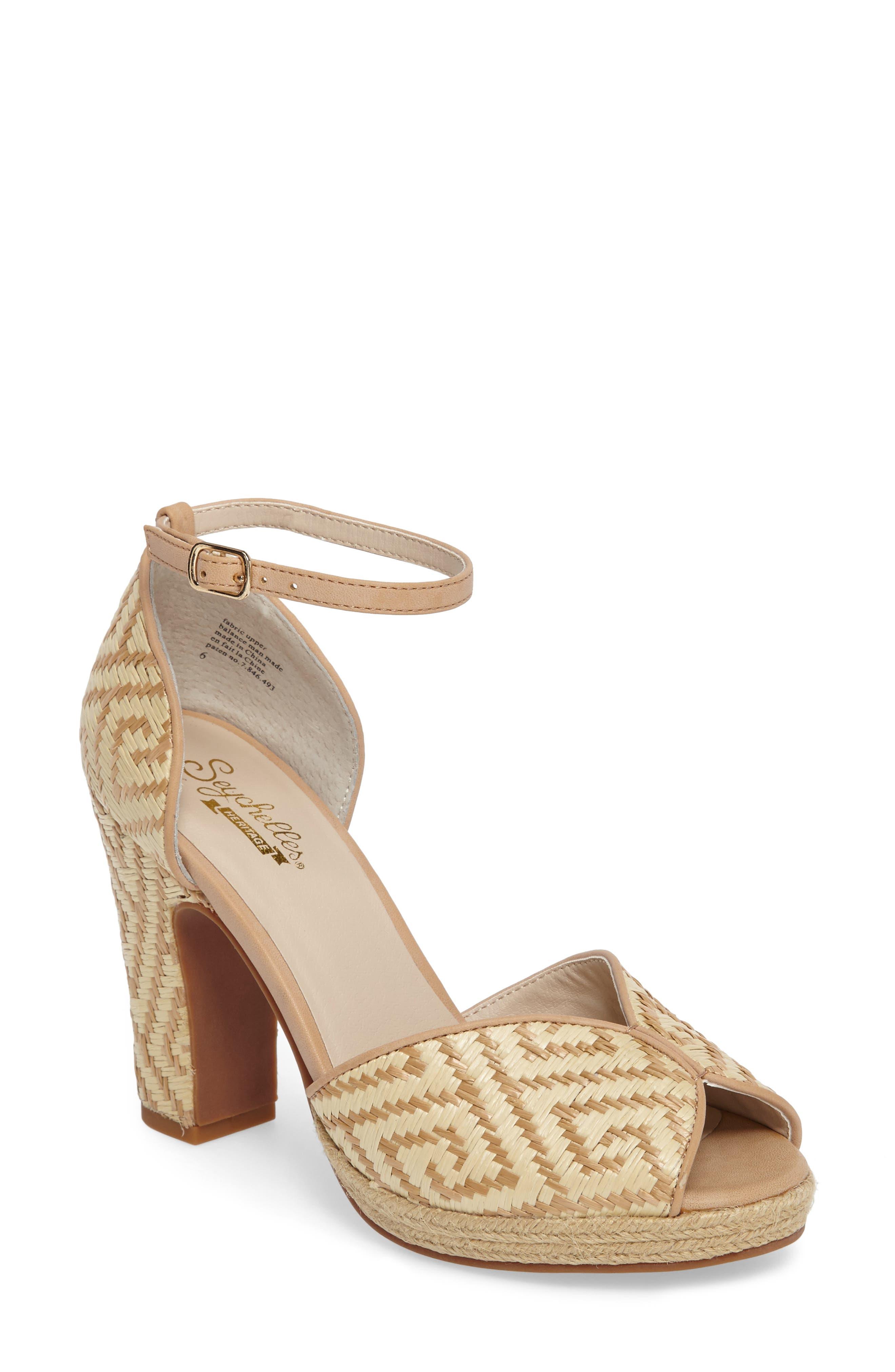 Seychelles Free to Roam Geo Woven Sandal (Women)