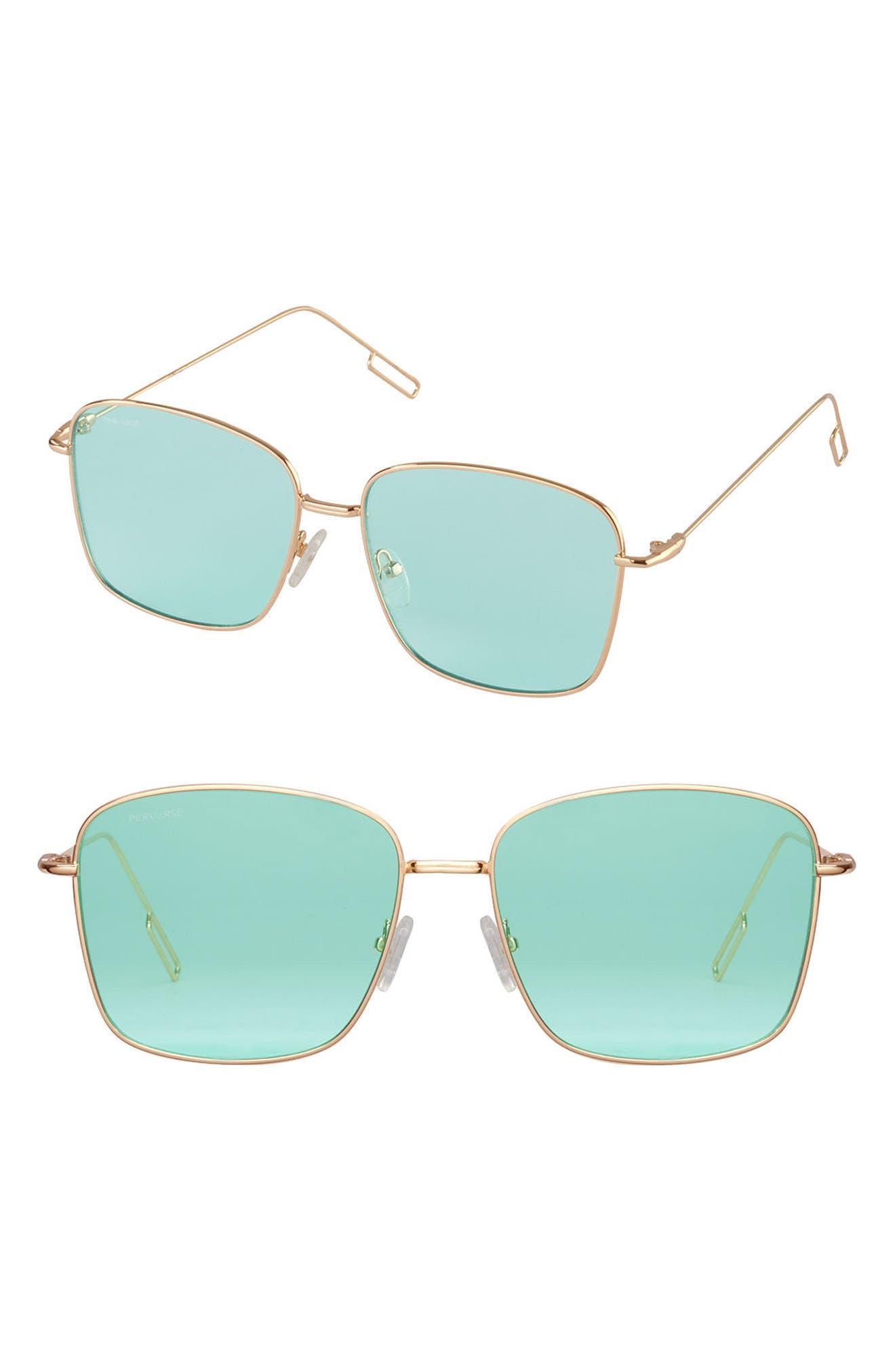 PERVERSE Eva Square Sunglasses