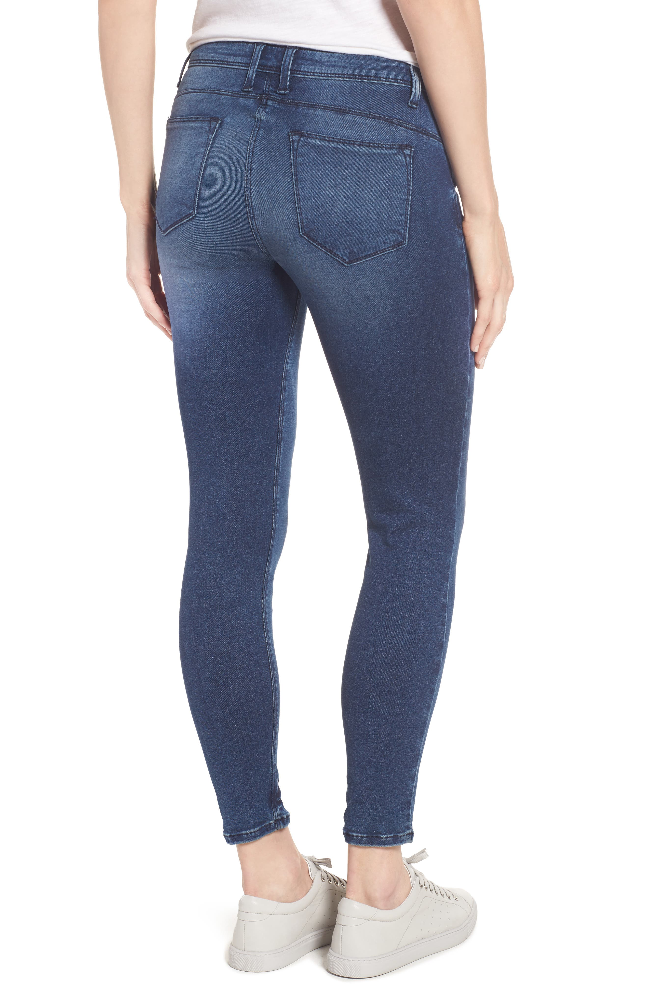 Alternate Image 2  - KUT from the Kloth Jennifer Ultra Skinny Jeans (Fashionable)