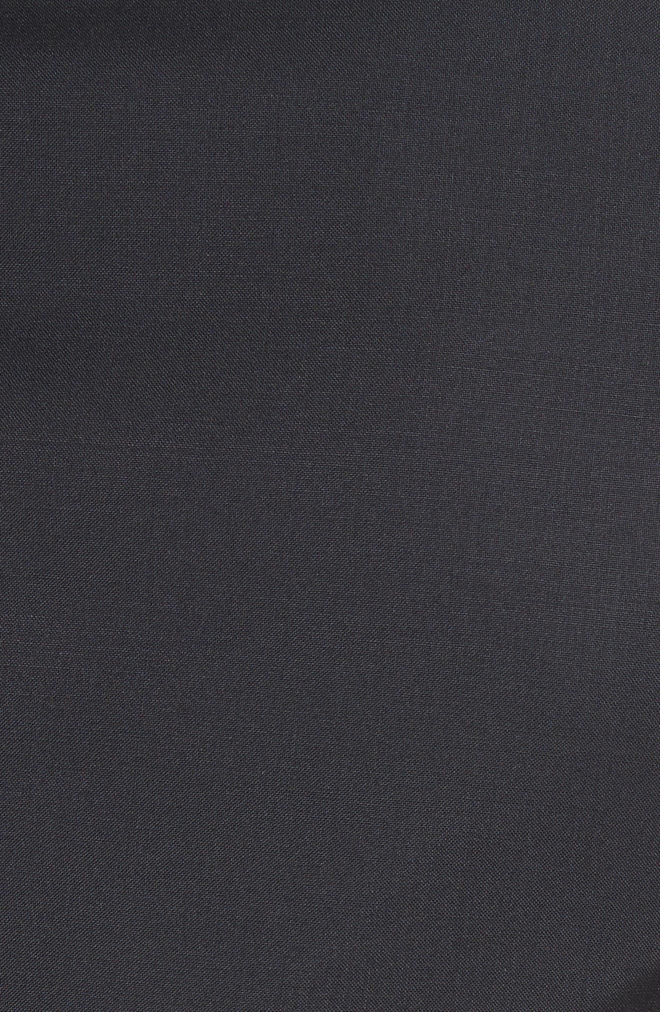 Peak Lapel Wool Blend Tuxedo,                             Alternate thumbnail 7, color,                             Navy
