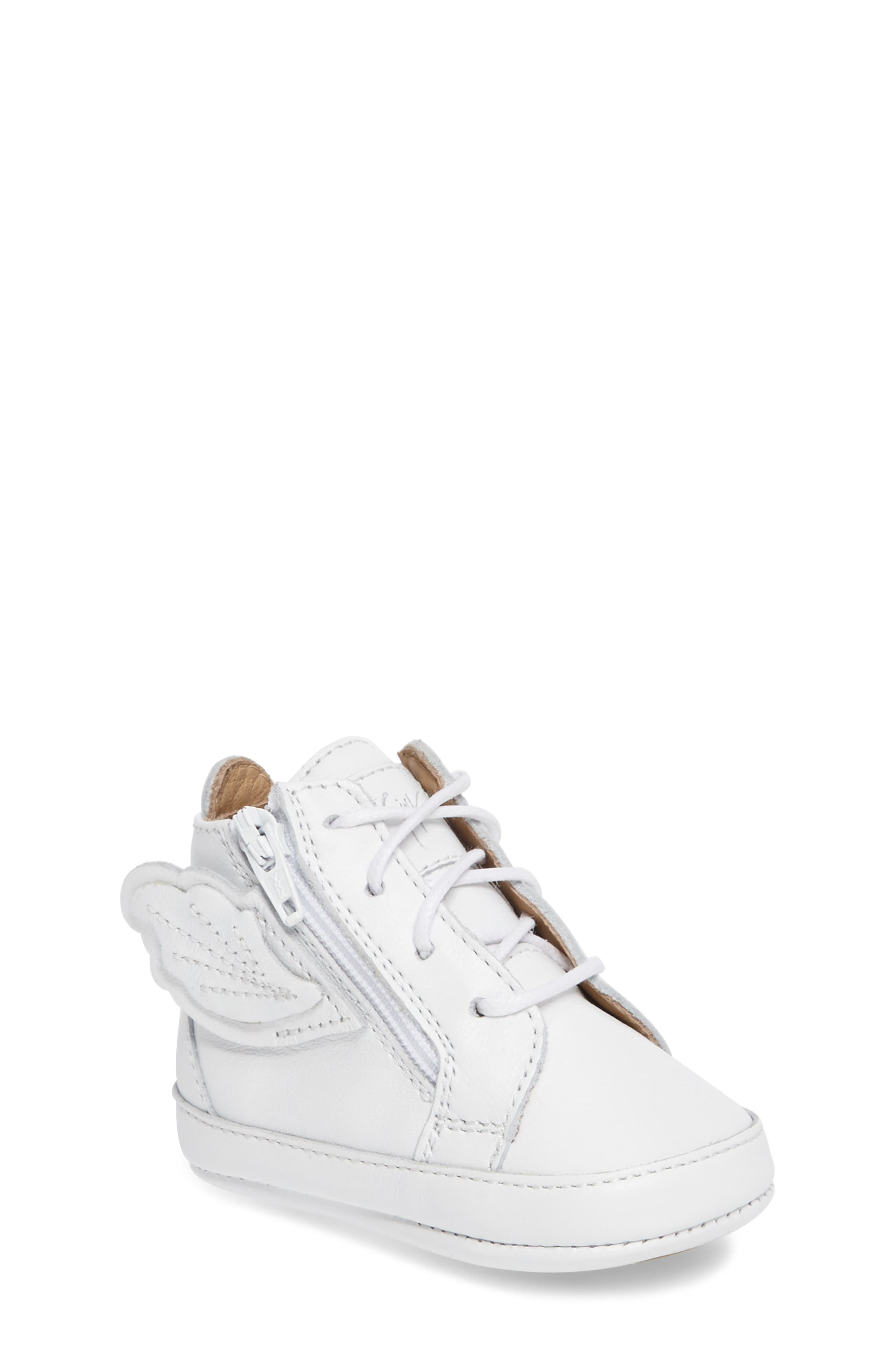 Giuseppe Zanotti Culla London High Top Crib Sneaker (Baby)