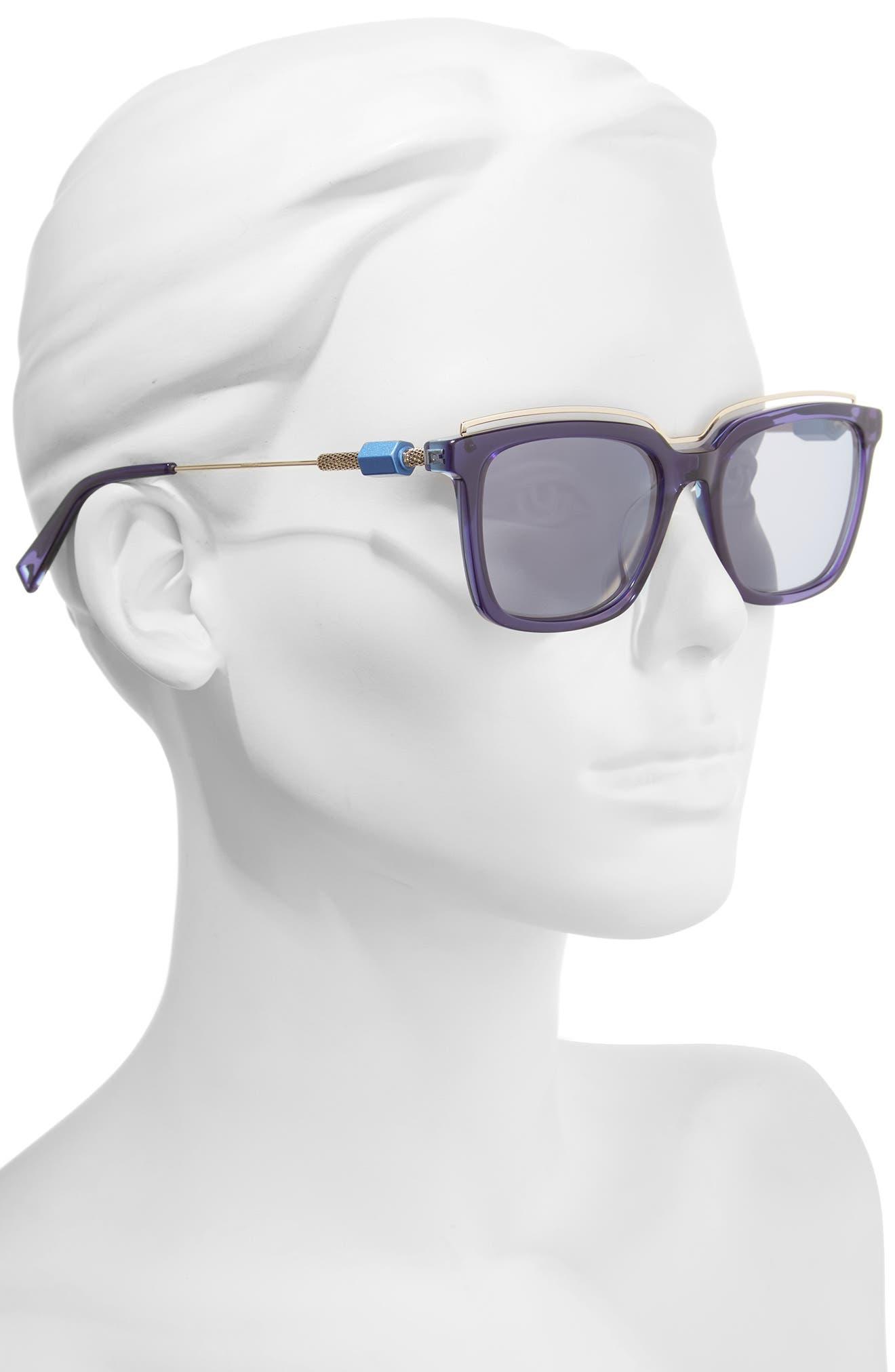 Alternate Image 2  - HAZE Opus 54mm Sunglasses