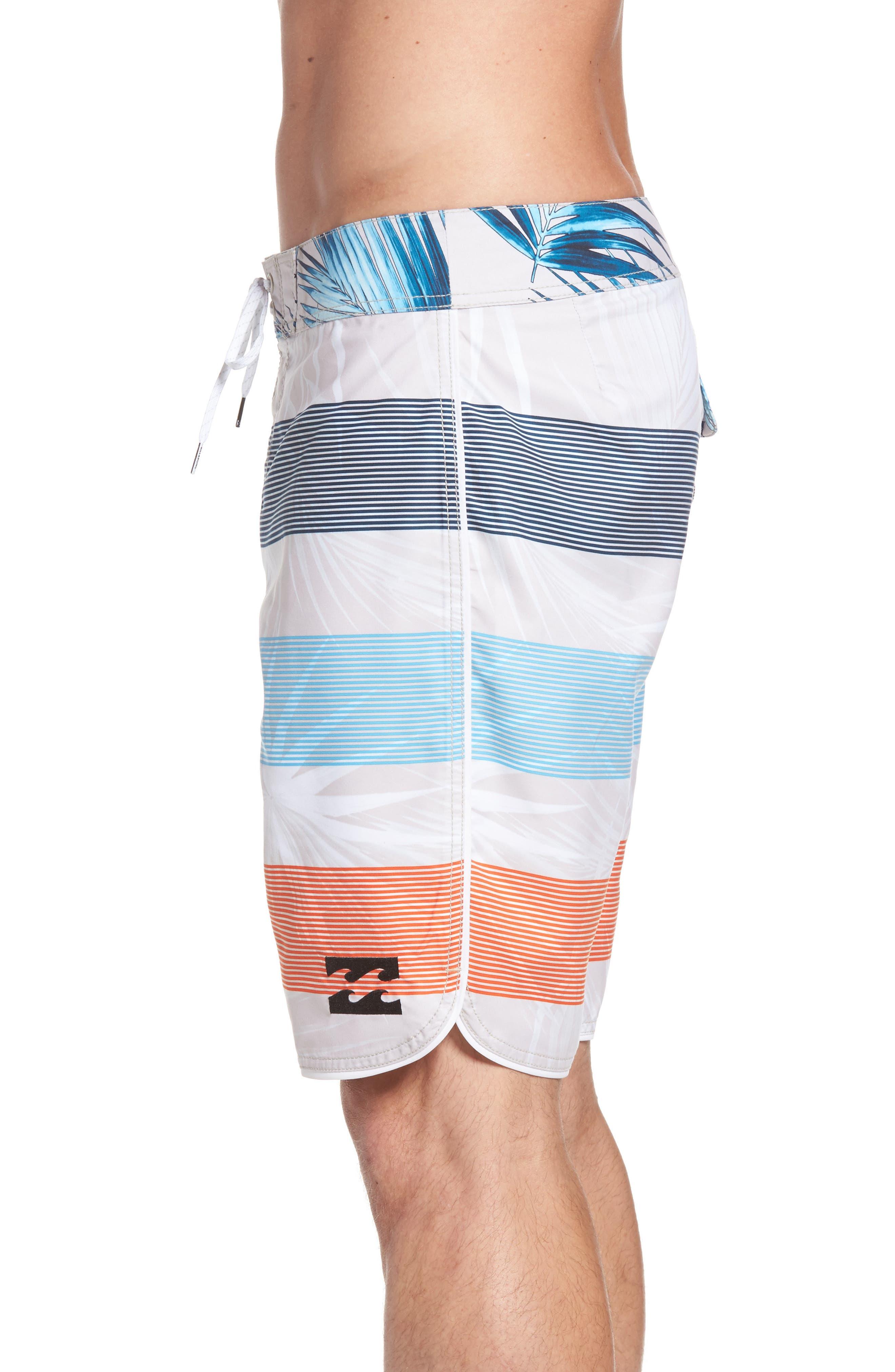 73 OG Stripe Board Shorts,                             Alternate thumbnail 3, color,                             Stone
