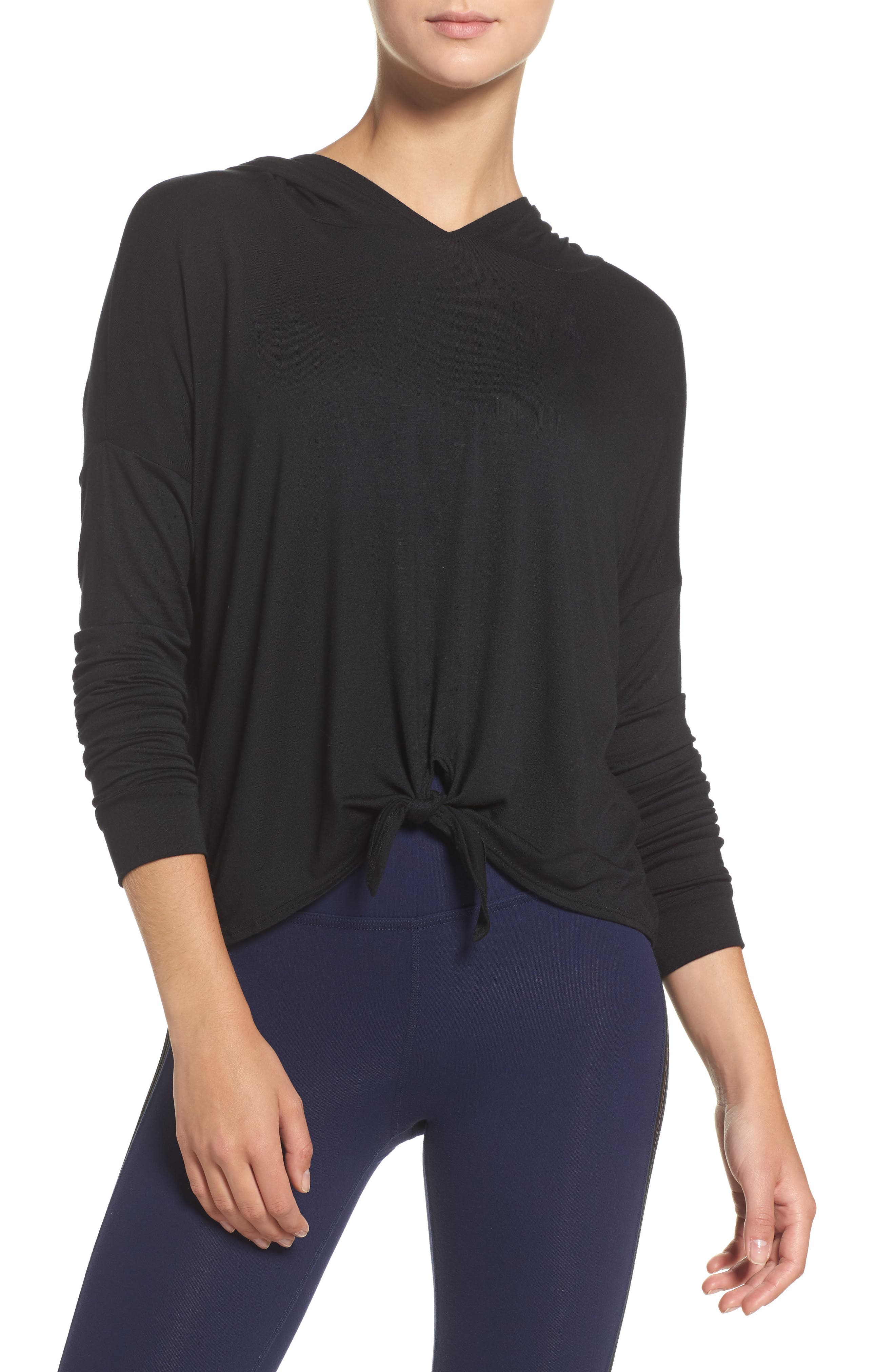 Main Image - Beyond Yoga All Tied Up Pullover