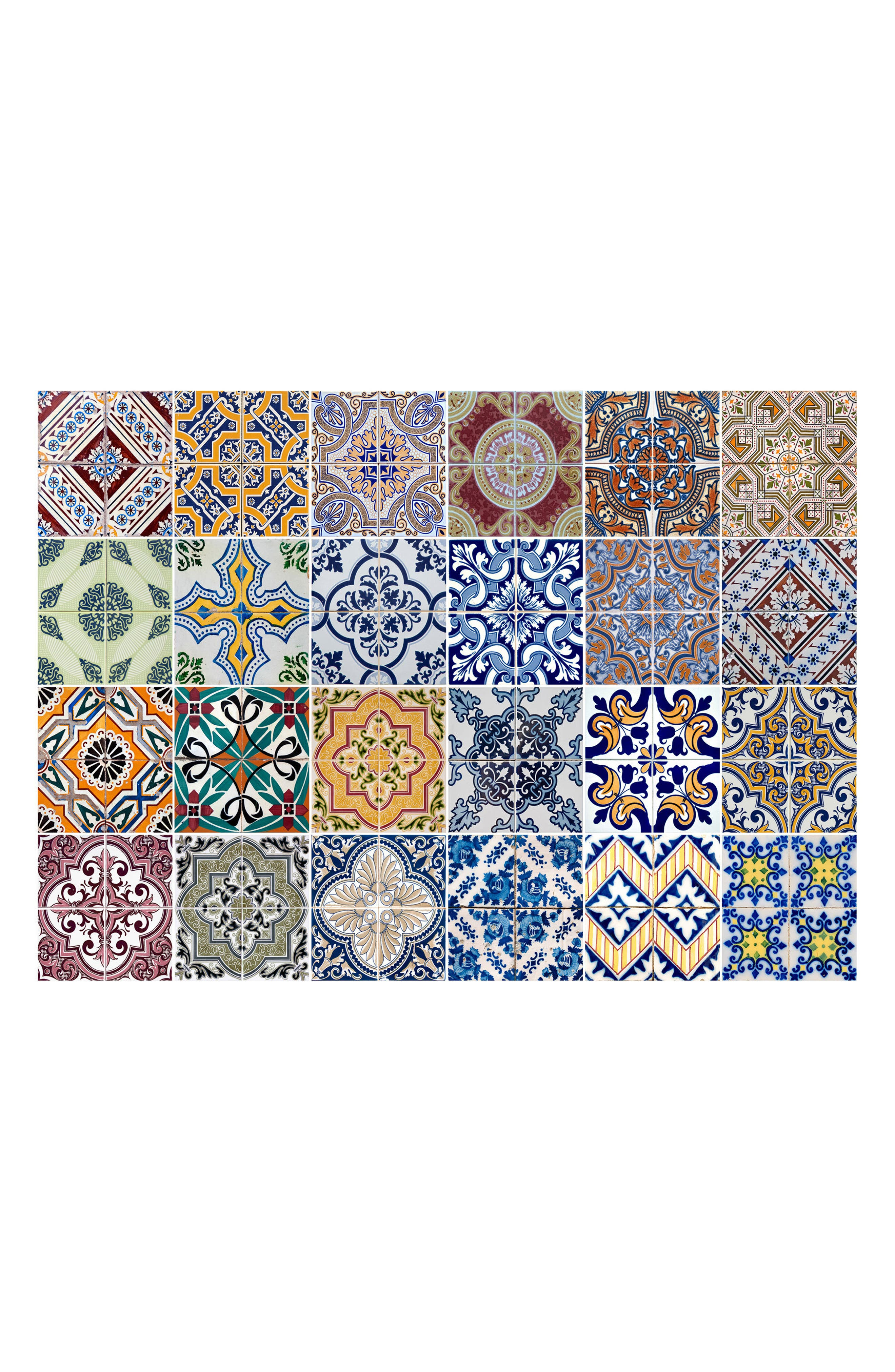 Main Image - Wallpops Azulejos Peel & Stick Vinyl Kitchen Panel