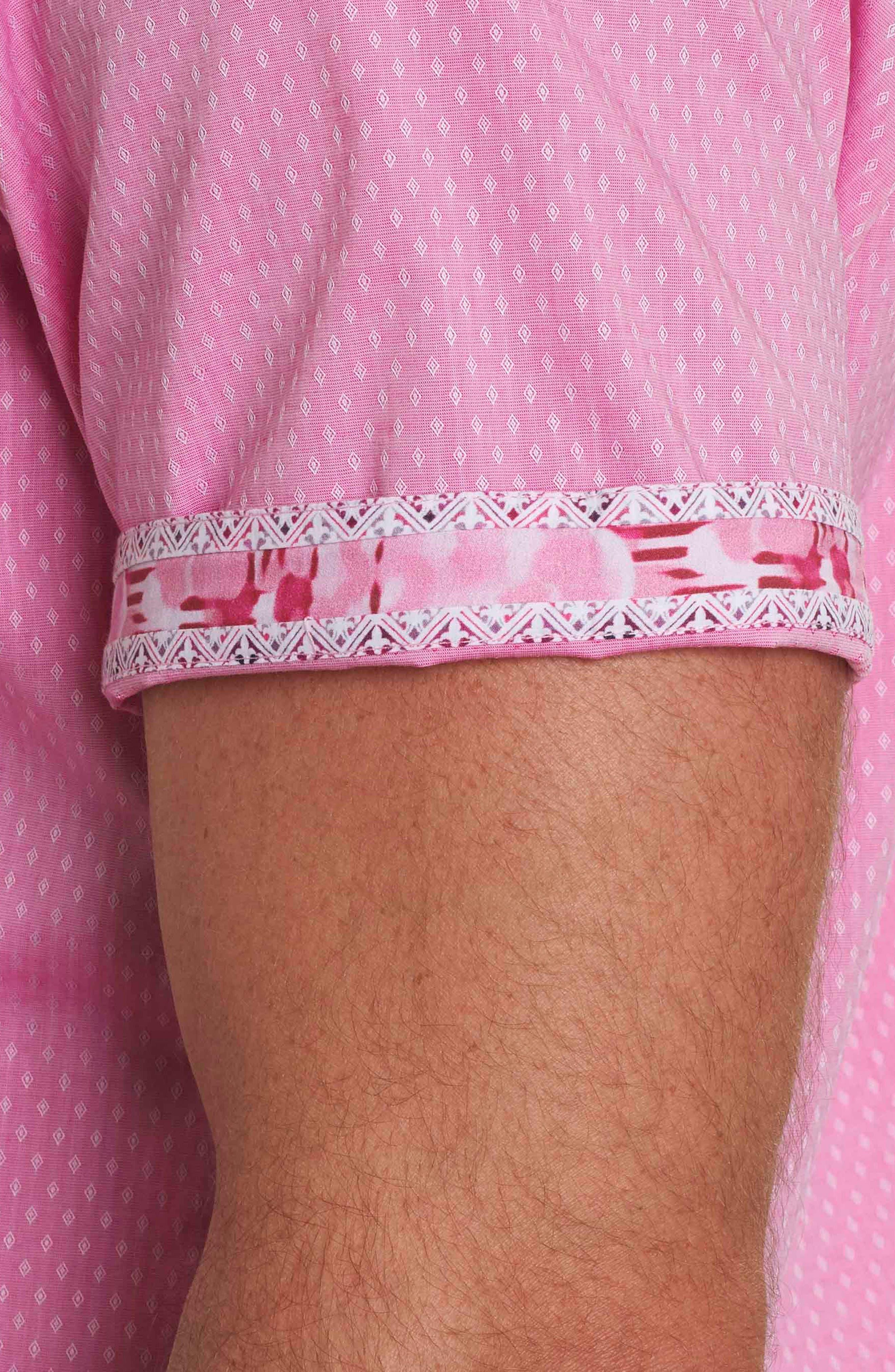 Alternate Image 3  - Robert Graham Clemens Short Sleeve Sport Shirt