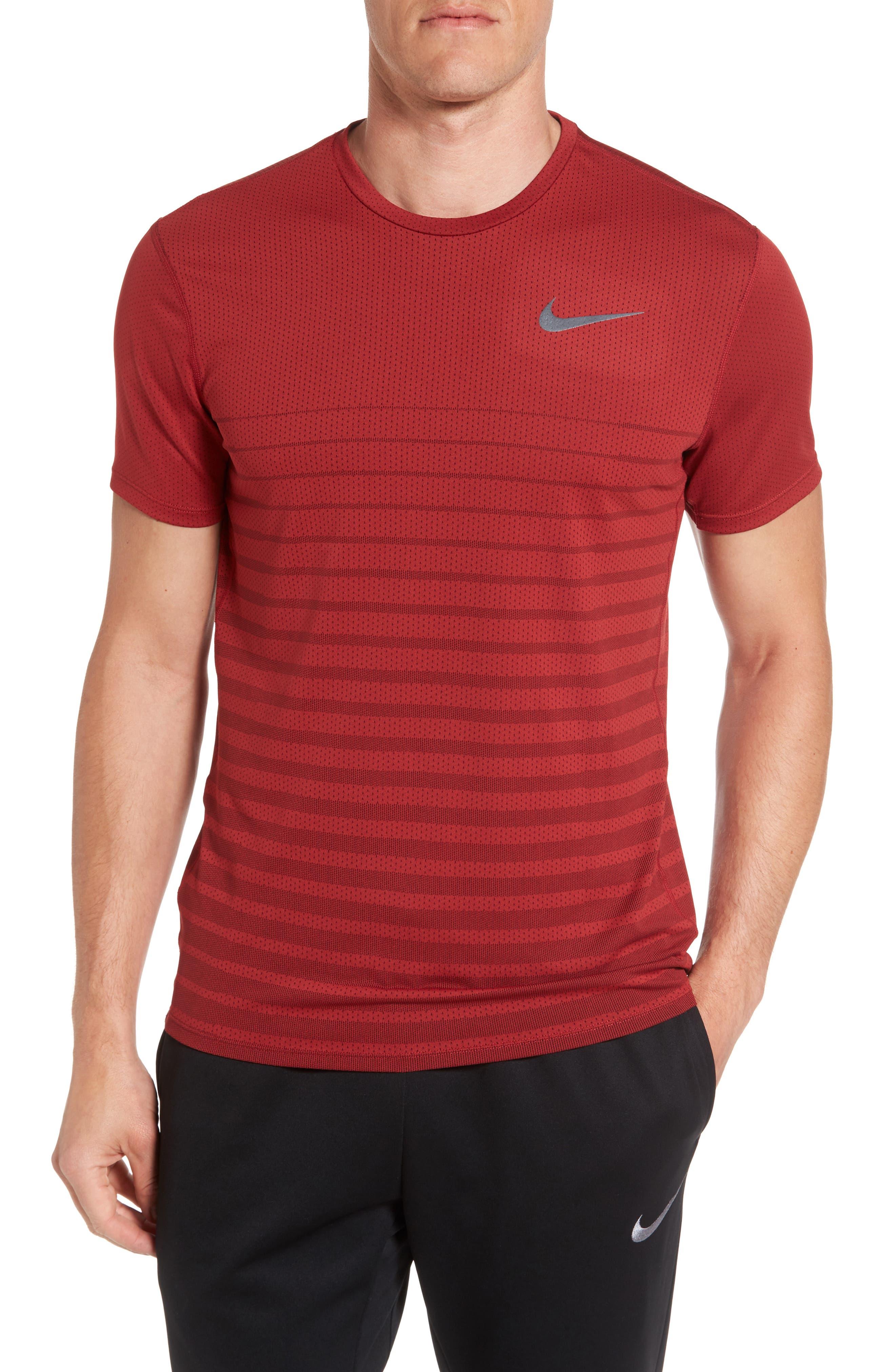 Main Image - Nike Mesh Running T-Shirt
