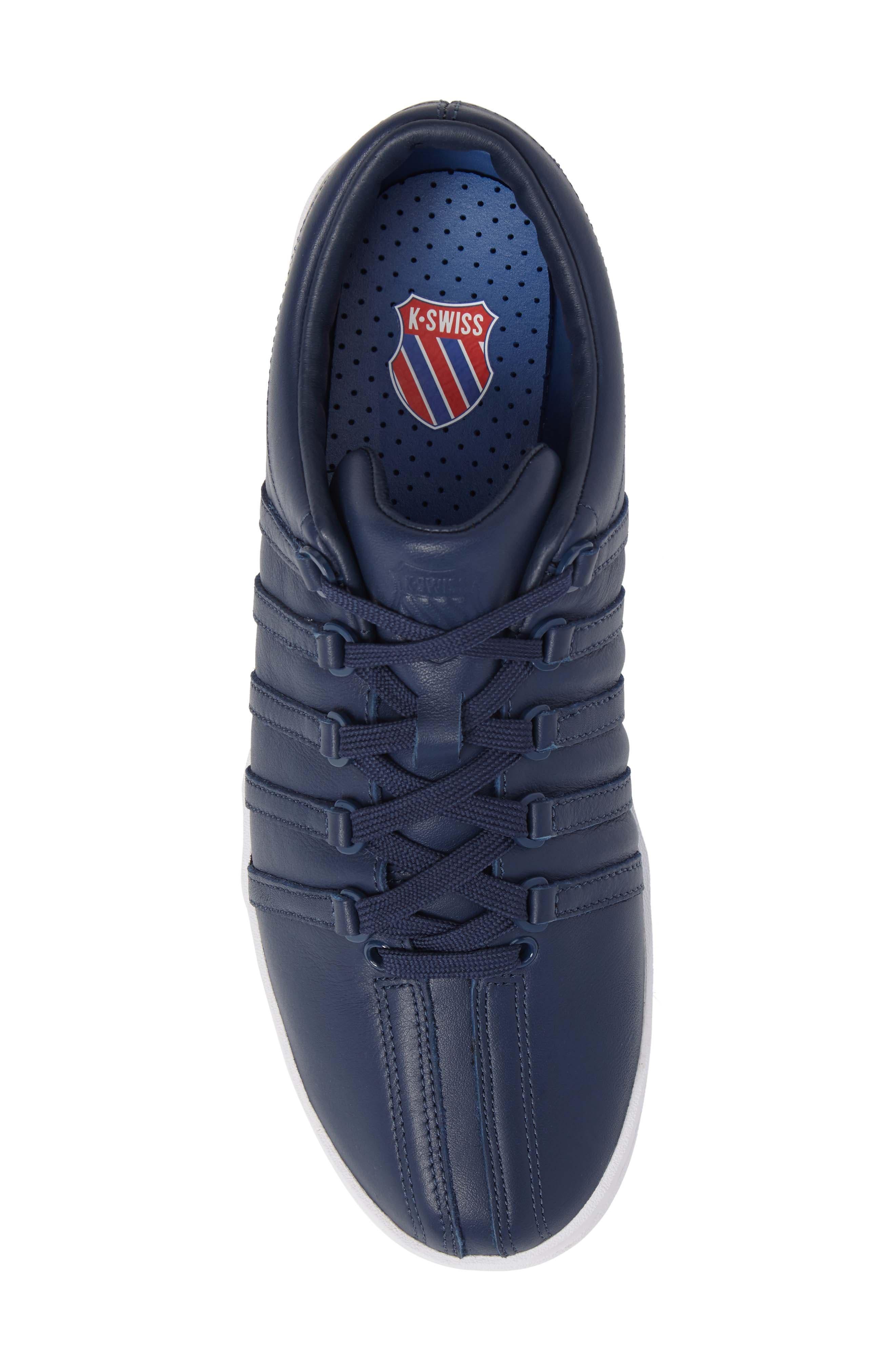 Classic '88 Sneaker,                             Alternate thumbnail 5, color,                             Dark Denim/ White