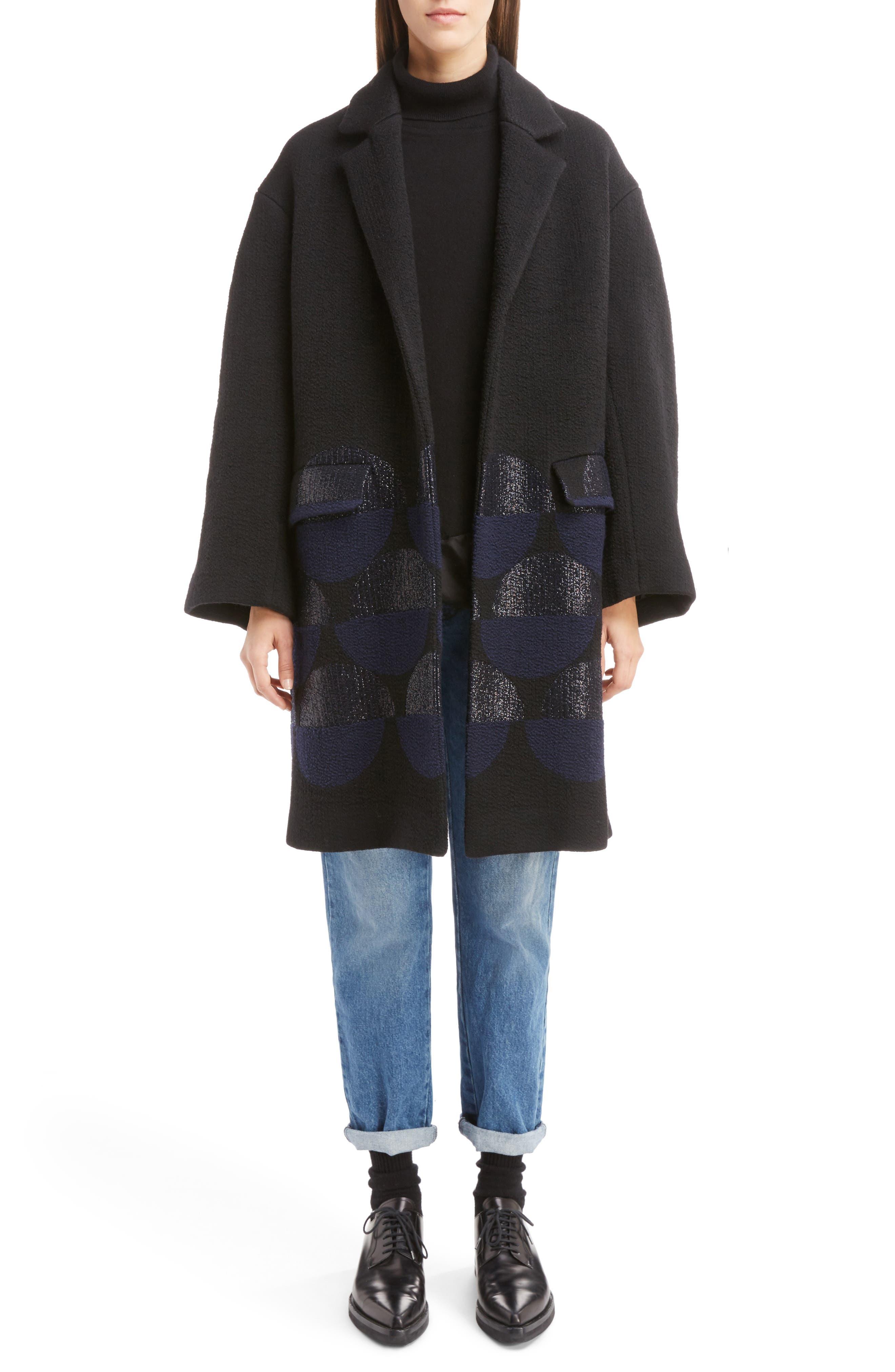 Alternate Image 9  - Dries Van Noten Silk Hem Cashmere Turtleneck Sweater