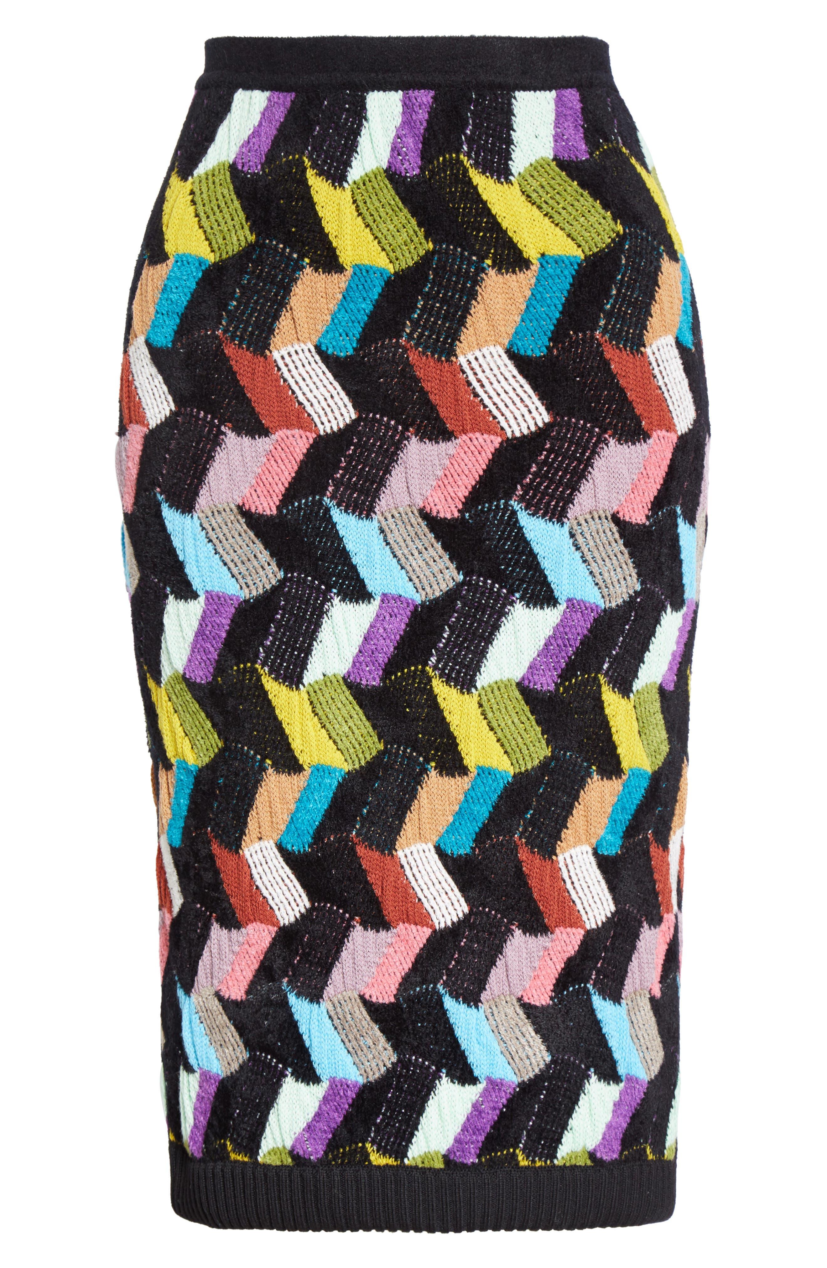 Alternate Image 6  - Missoni Multi Knit Pencil Skirt