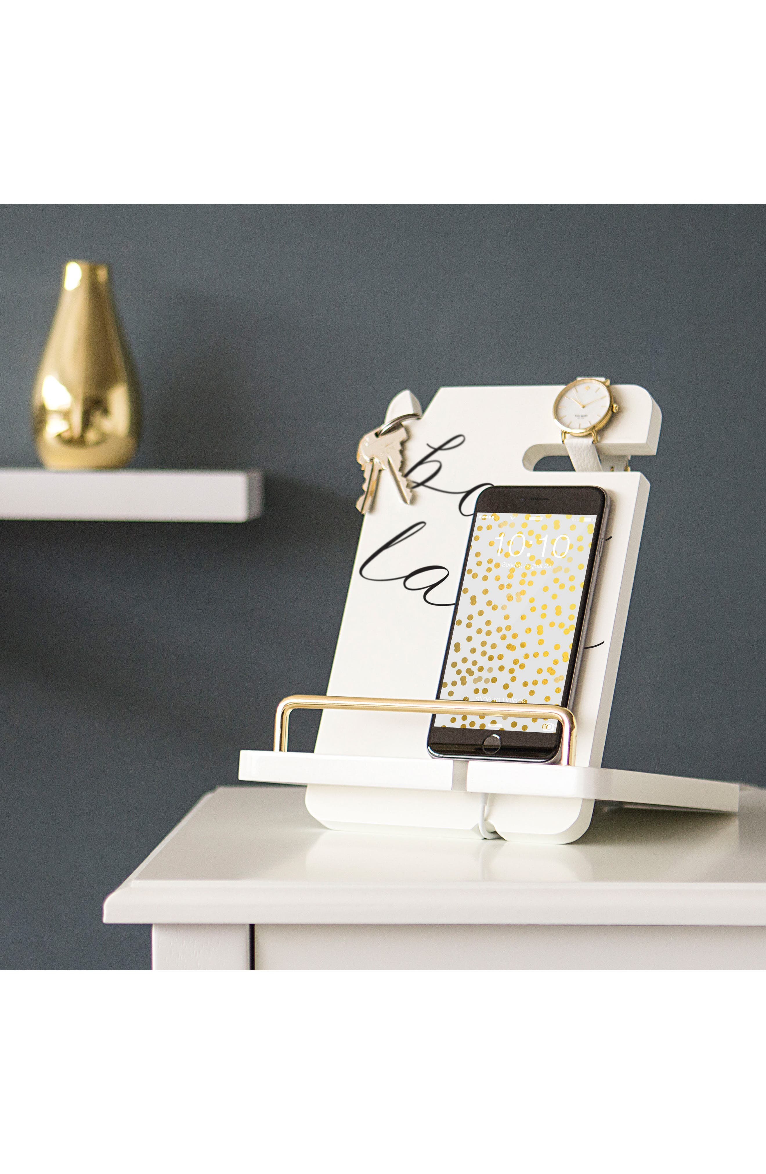 Boss Lady Lacquer Docking Station,                             Alternate thumbnail 4, color,