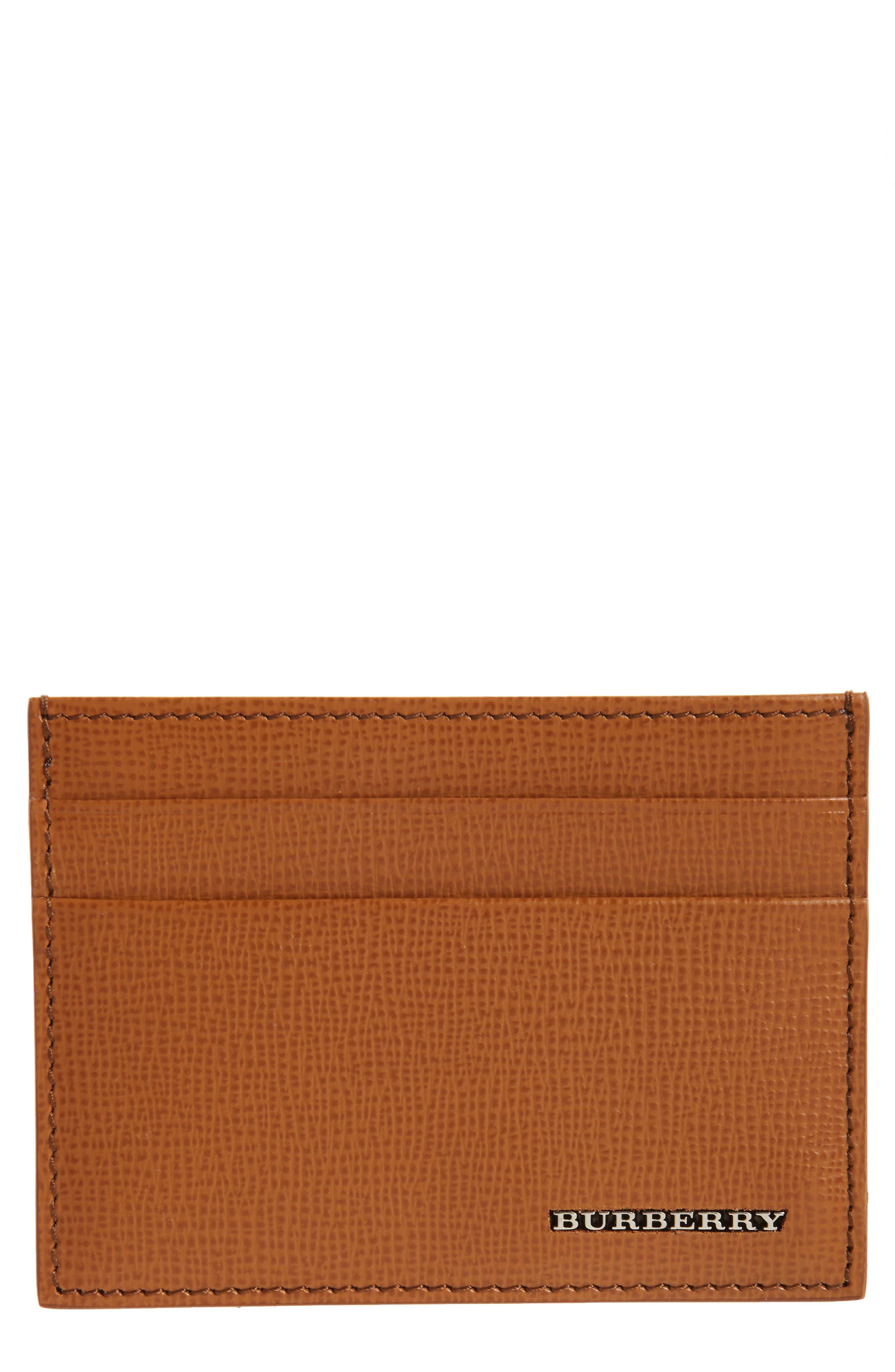Burberry Sandon Leather Card Case