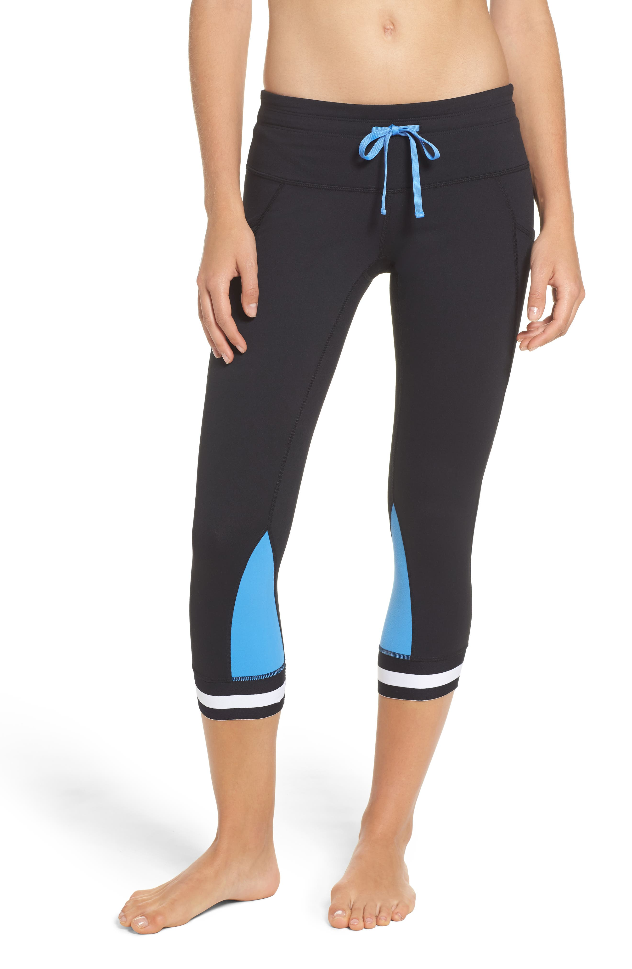 Main Image - Zella Bring It Back Crop Leggings