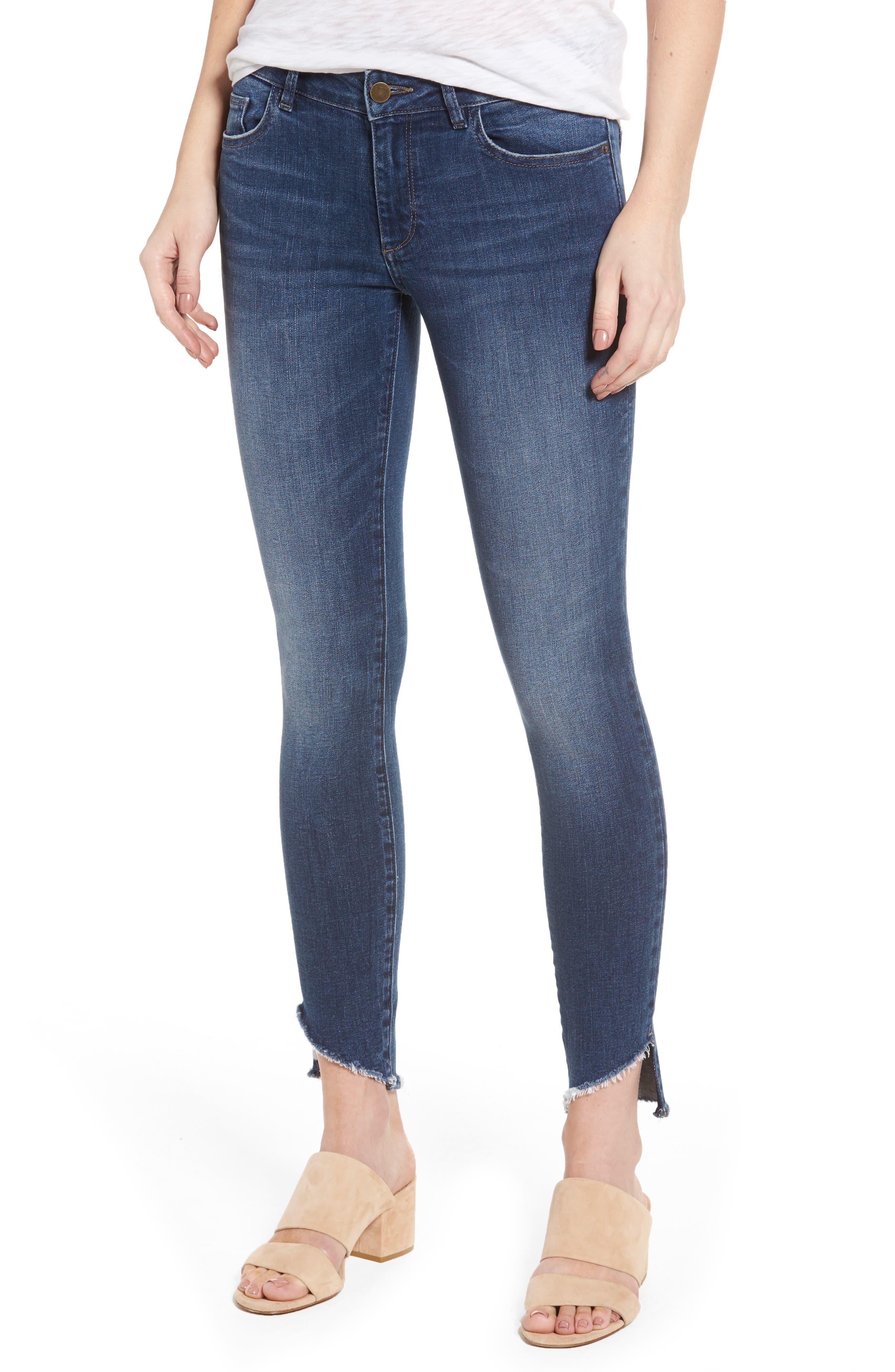 DL1961 Wagner Petite Ankle Skinny Jeans (Sphinx)