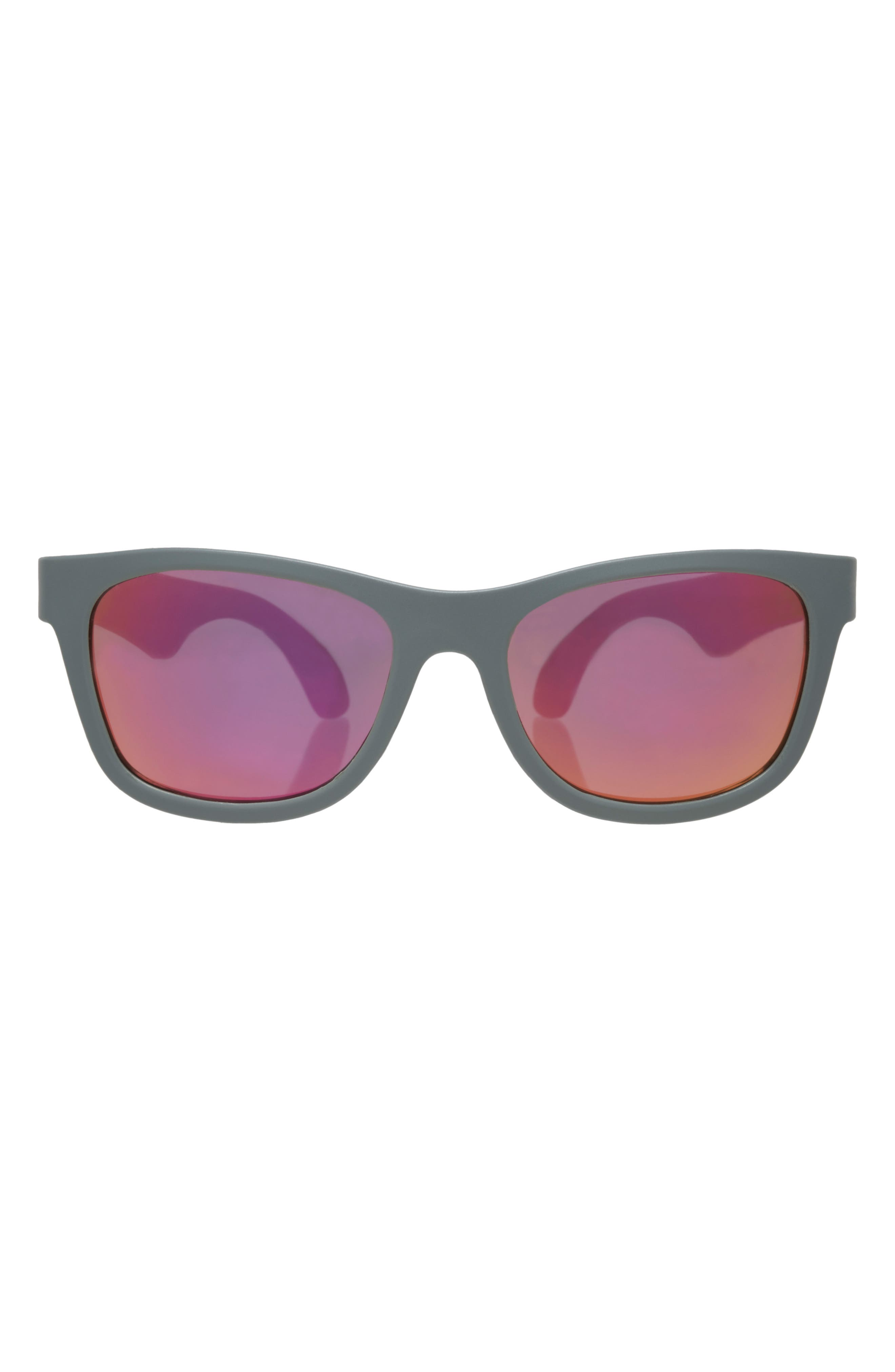 Aces Navigator Sunglasses,                         Main,                         color, Galactic Gray/ Pink
