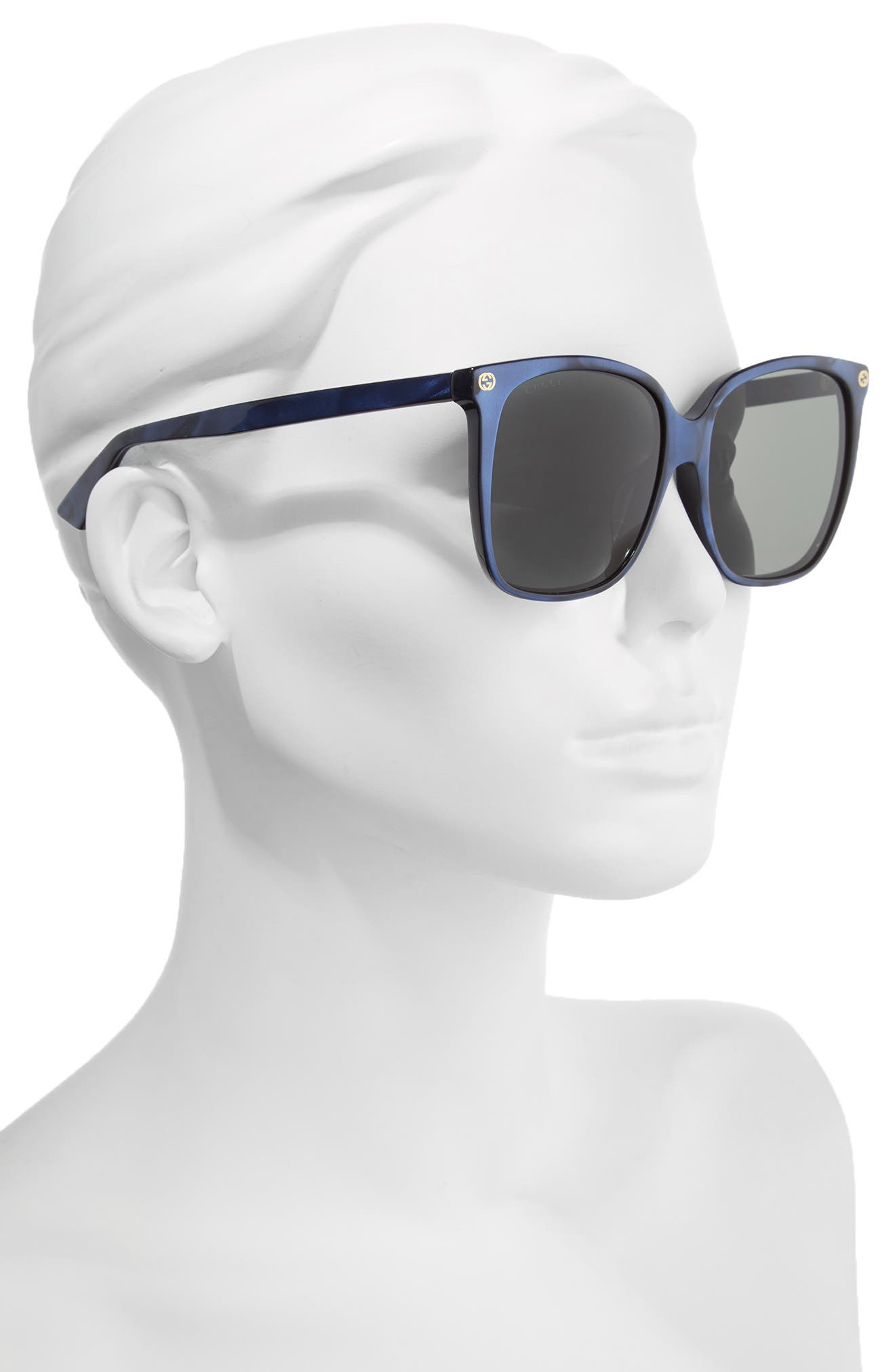 Alternate Image 2  - Gucci 57mm Gradient Sunglasses