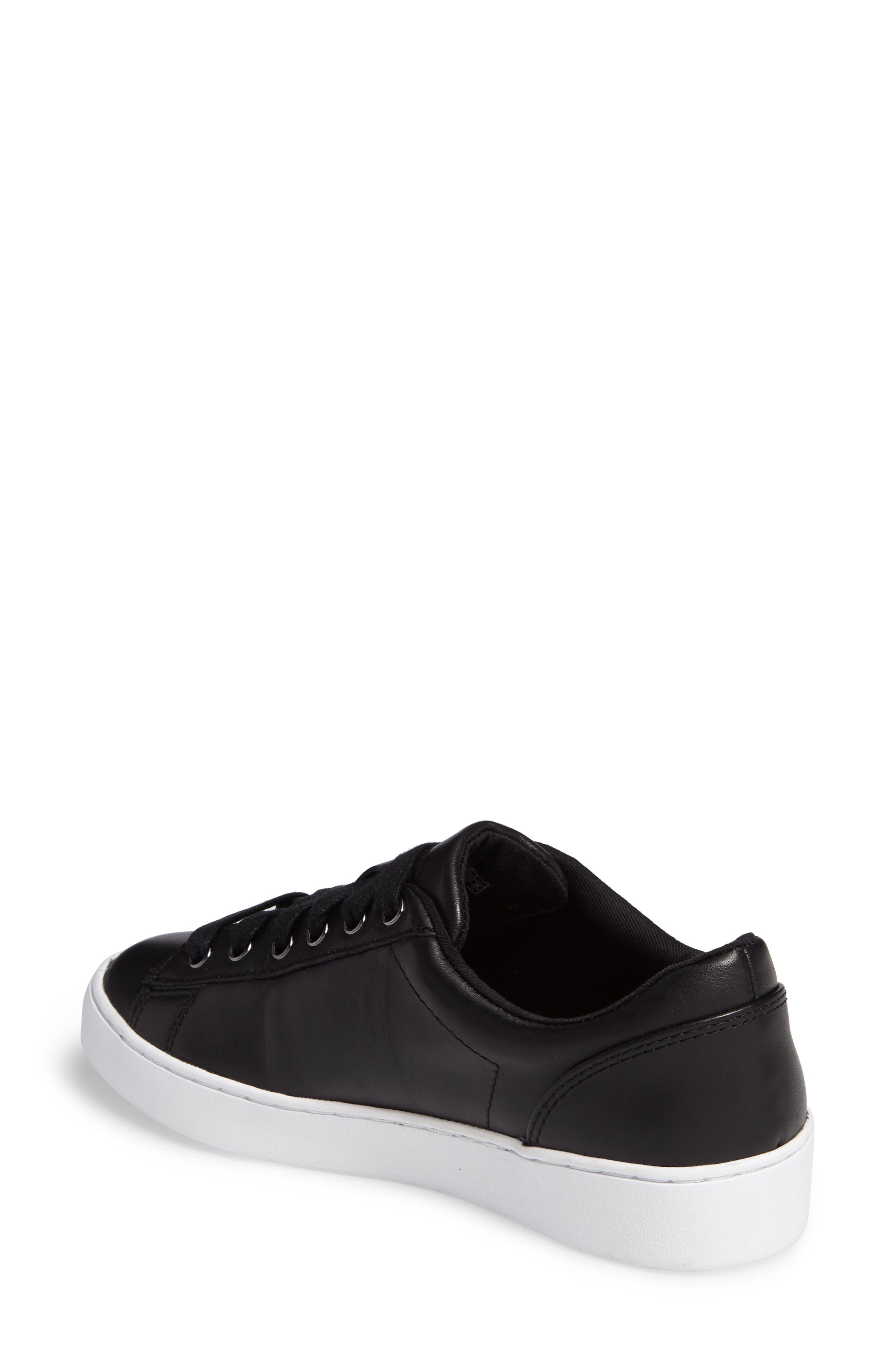 Splendid Syra Sneaker,                             Alternate thumbnail 2, color,                             Black Leather