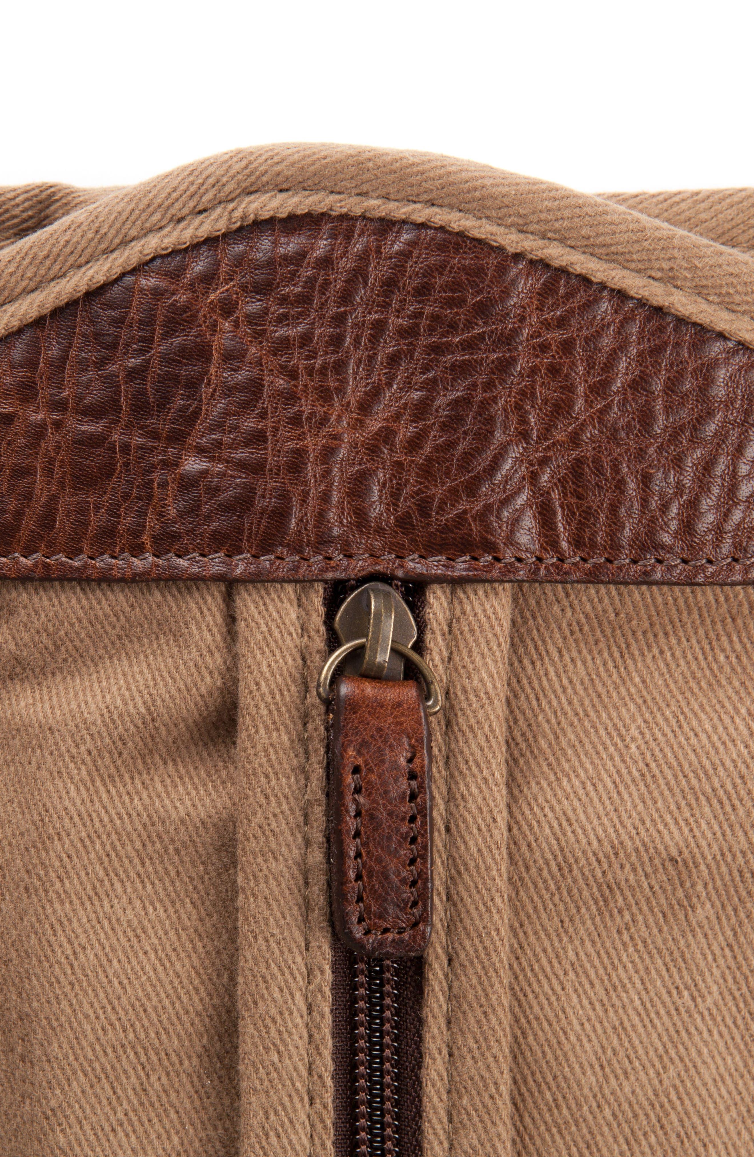 Holton Garment Bag,                             Alternate thumbnail 2, color,                             Brushed Tan Twill