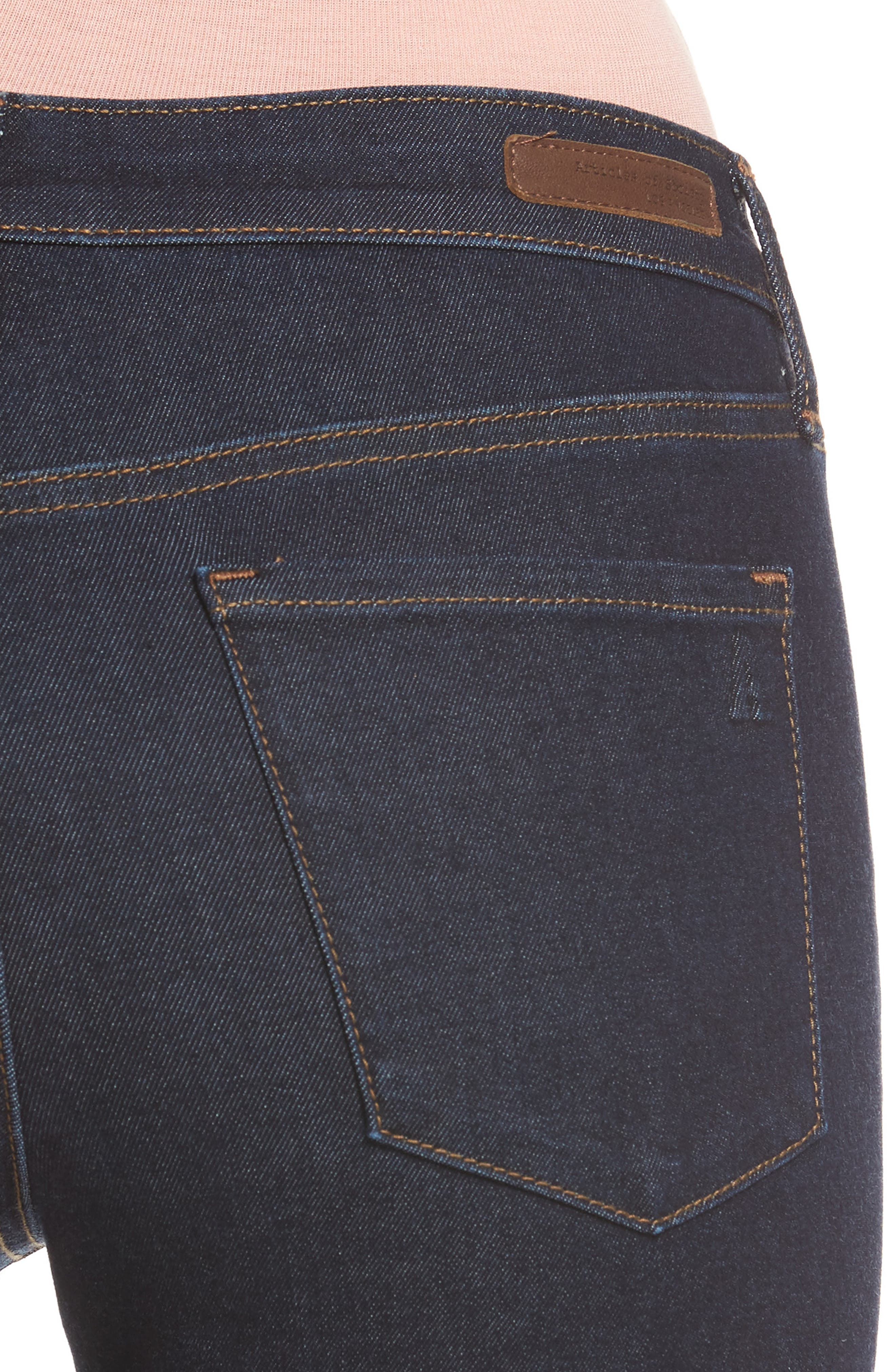 Alternate Image 5  - Articles of Society Sarah Ankle Skinny Jeans (Elm)