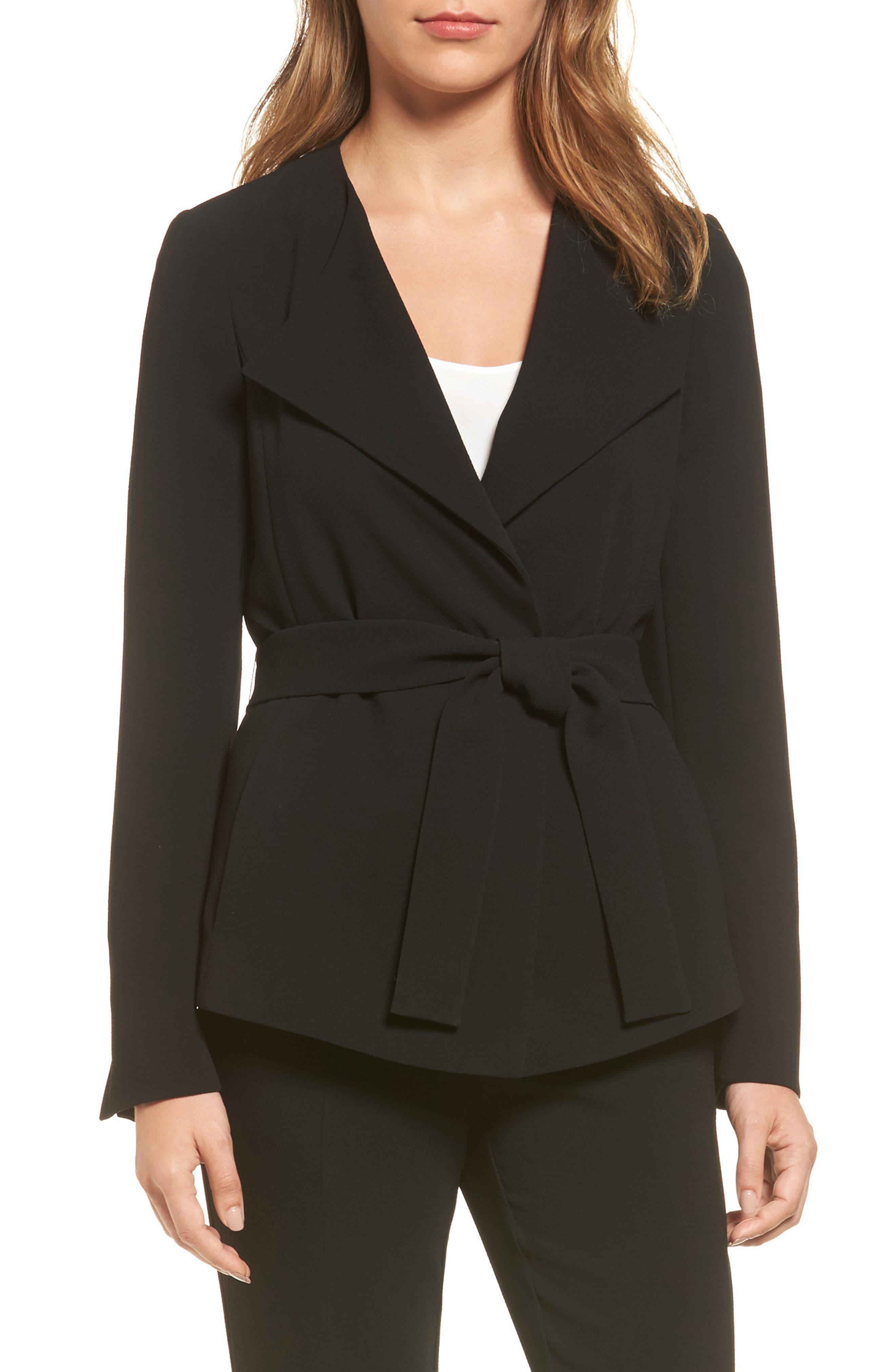 BOSS Karelina Belted Suit Jacket (Regular & Petite)