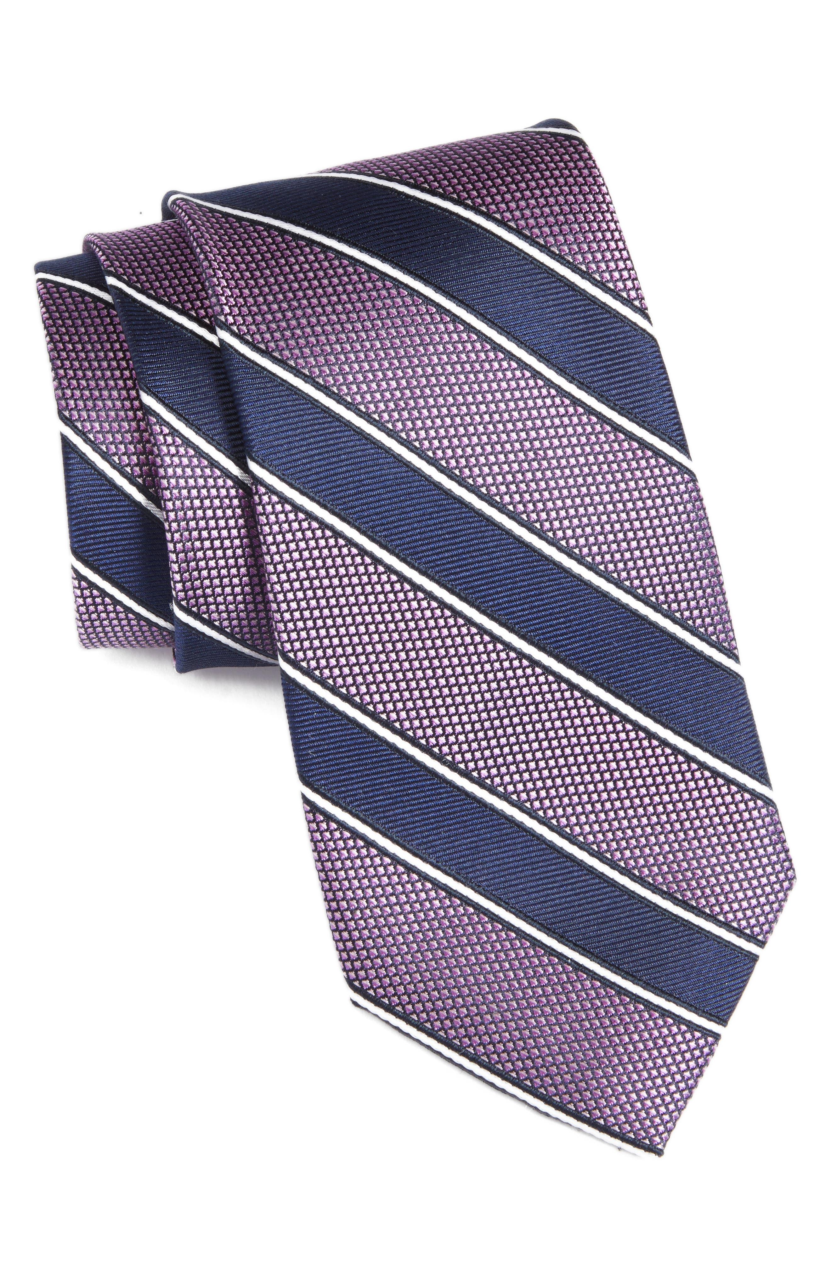 Main Image - Nordstrom Men's Shop Copio Stripe Silk Tie