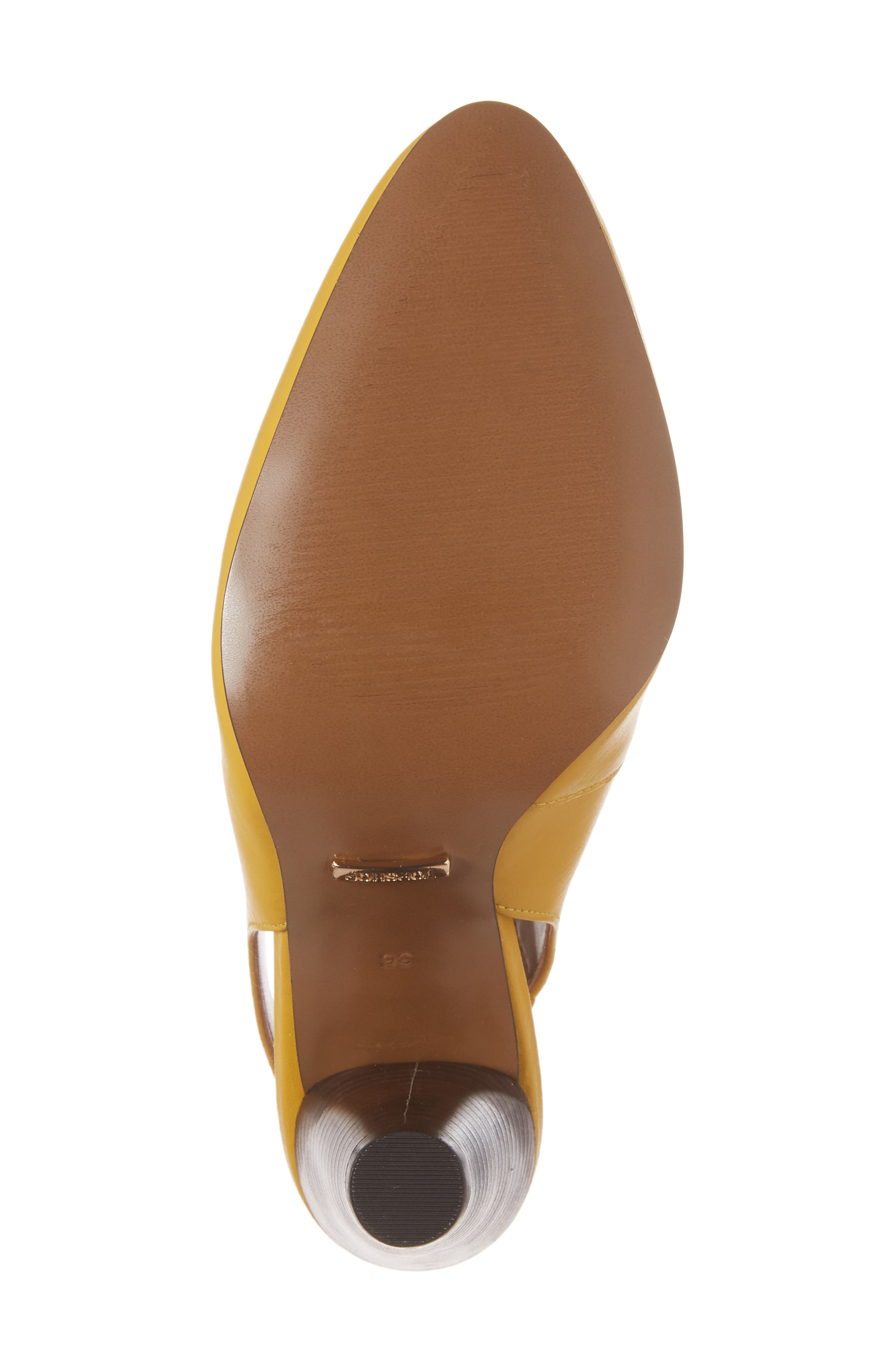 Gabriel Slingback Pump,                             Alternate thumbnail 6, color,                             Yellow