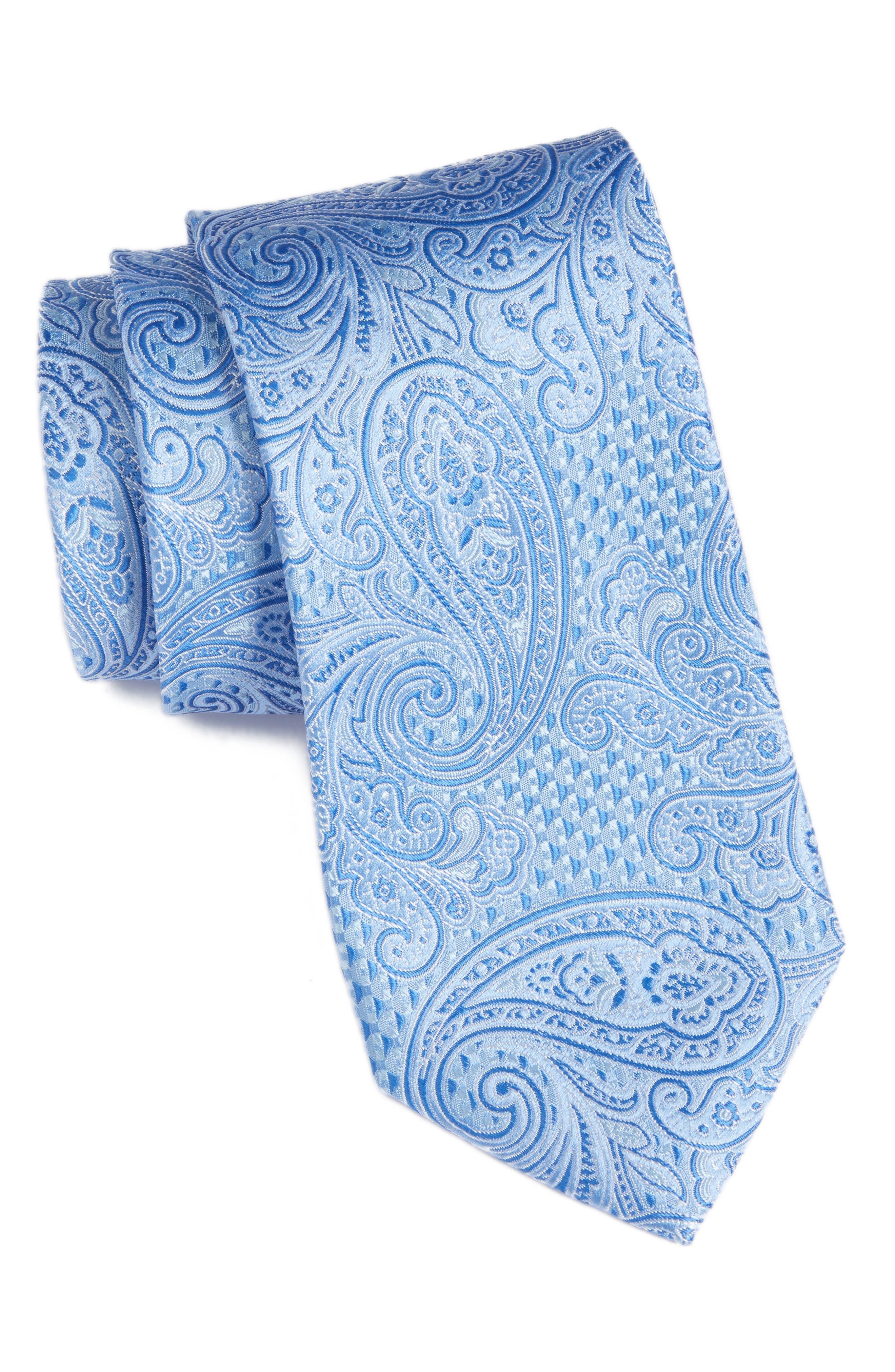 Nordstrom Men's Shop Sovana Paisley Silk Tie