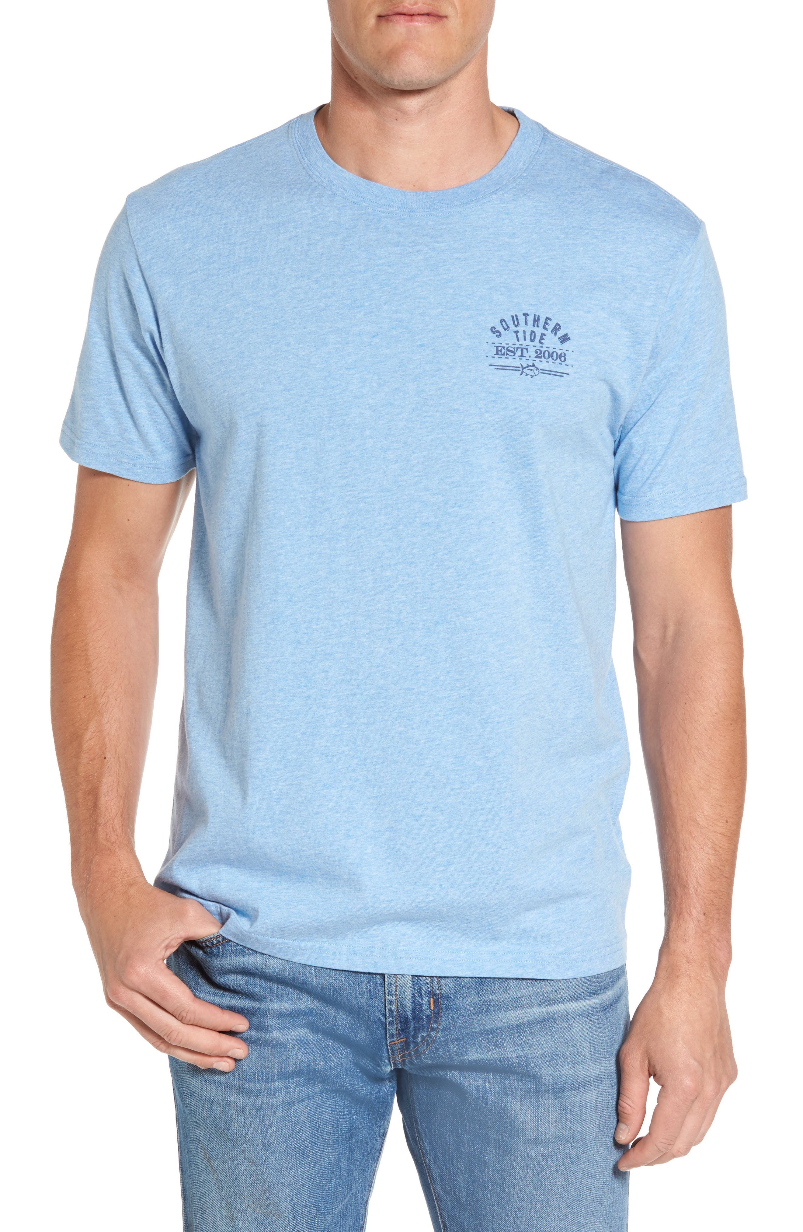 Alternate Image 2  - Southern Tide Bourbon Bottle Classic Fit Graphic T-Shirt