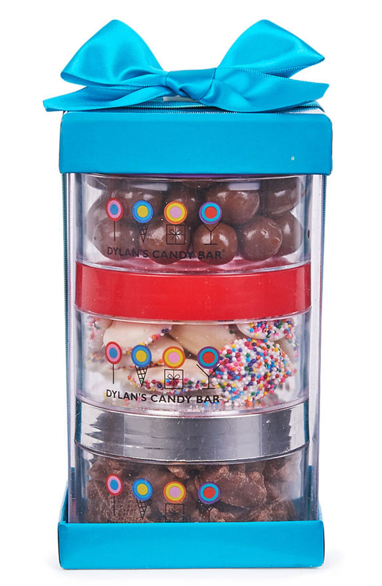 Chocolate Stack-A-Round 3-Pack Signature Gift Set,                             Main thumbnail 1, color,                             Blue