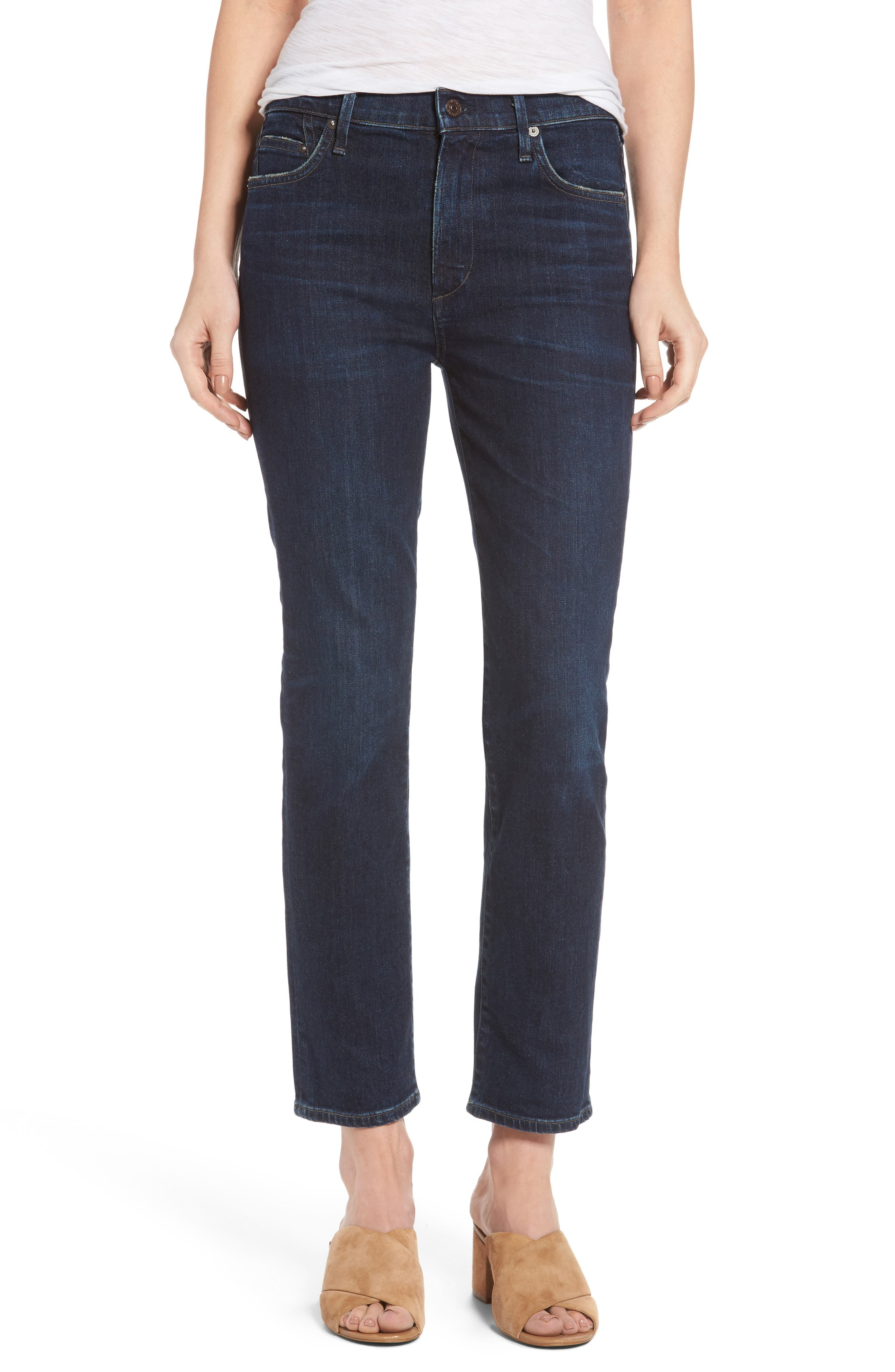Alternate Image 1 Selected - Citizens of Humanity Cara Ankle Cigarette Jeans (Maya)