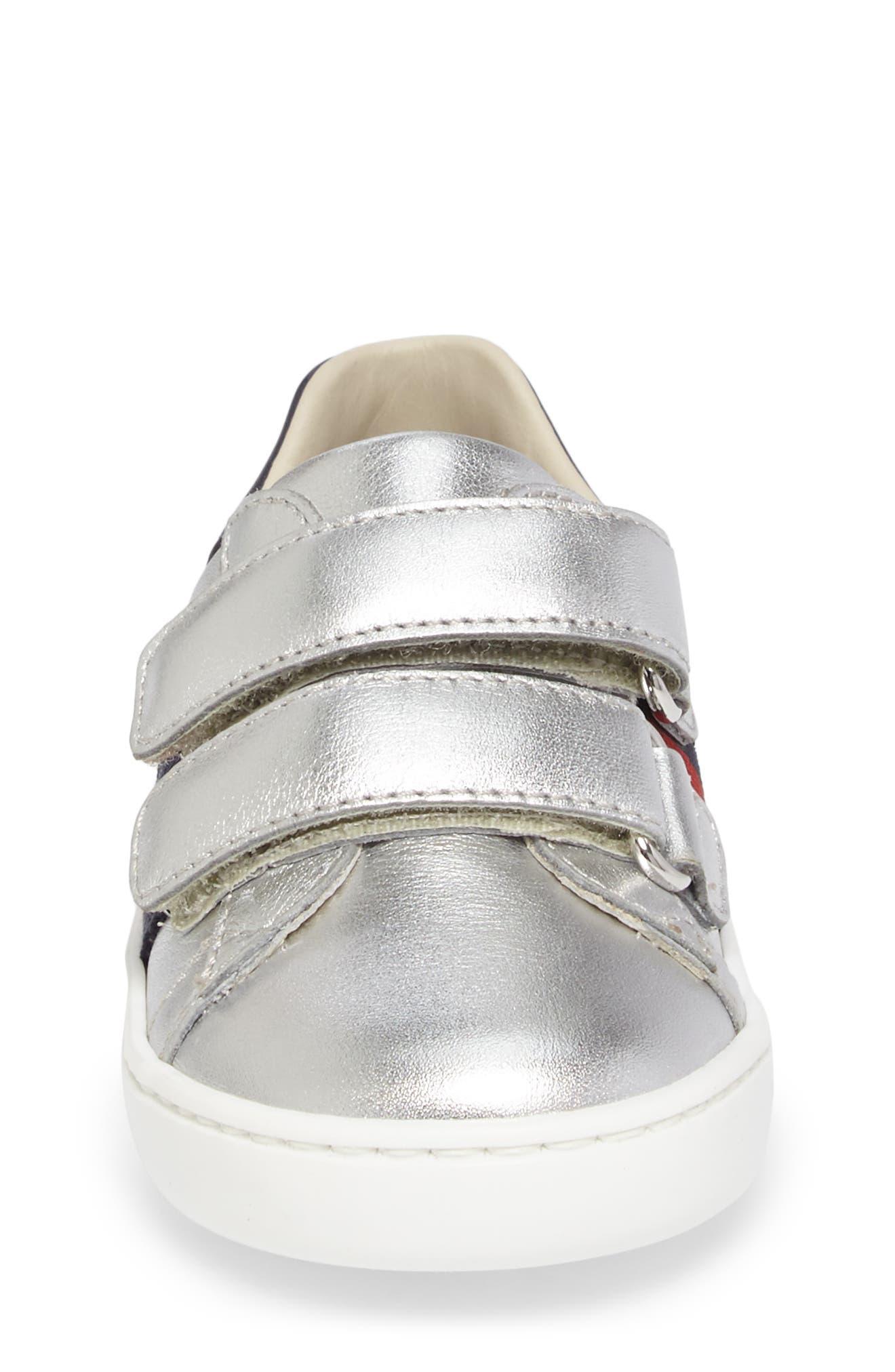 Alternate Image 4  - Gucci New Ace Sneaker (Baby, Walker, Toddler & Little Kid)