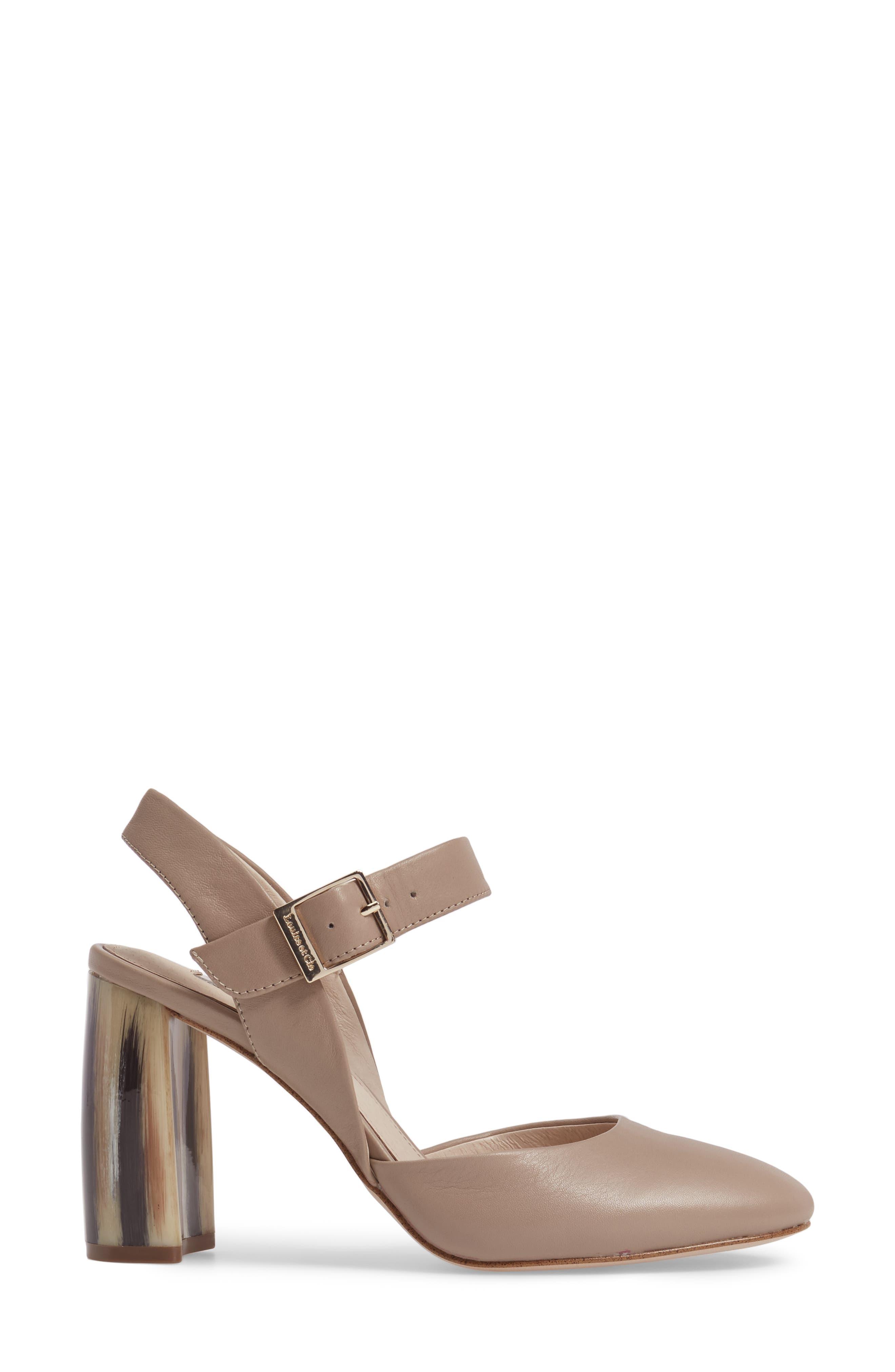 Alternate Image 3  - Louise et Cie Juveau Crescent Heel Pump (Women)