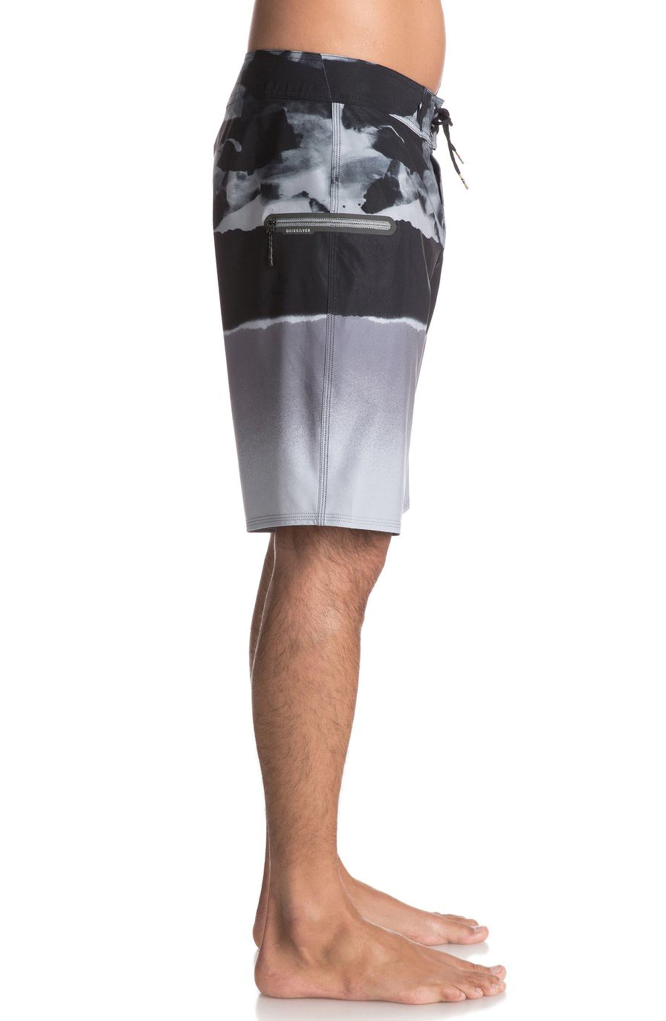 Alternate Image 3  - Quiksilver Blocked Resin Board Shorts