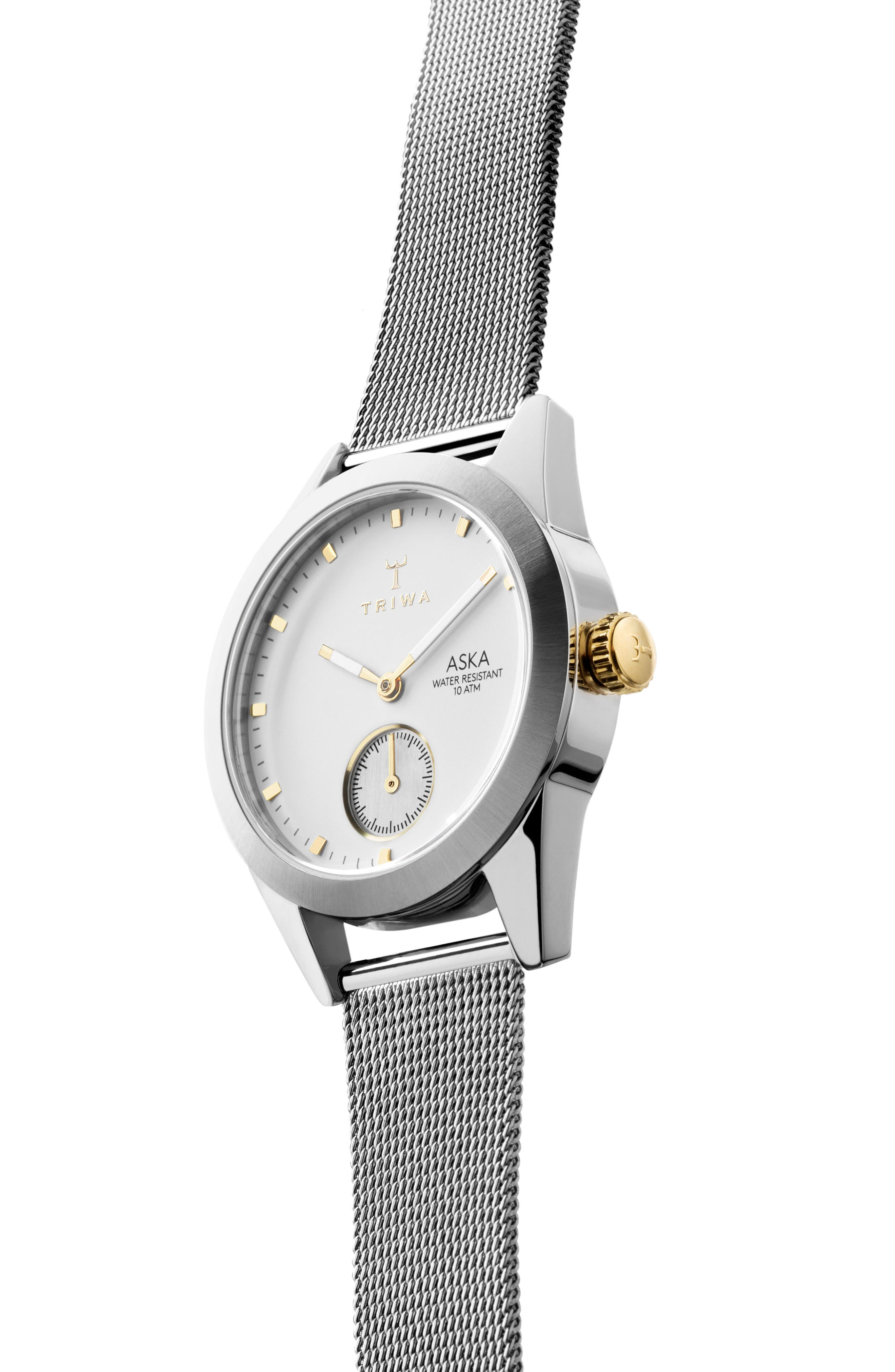 Alternate Image 4  - TRIWA Aska Mesh Strap Watch, 32mm