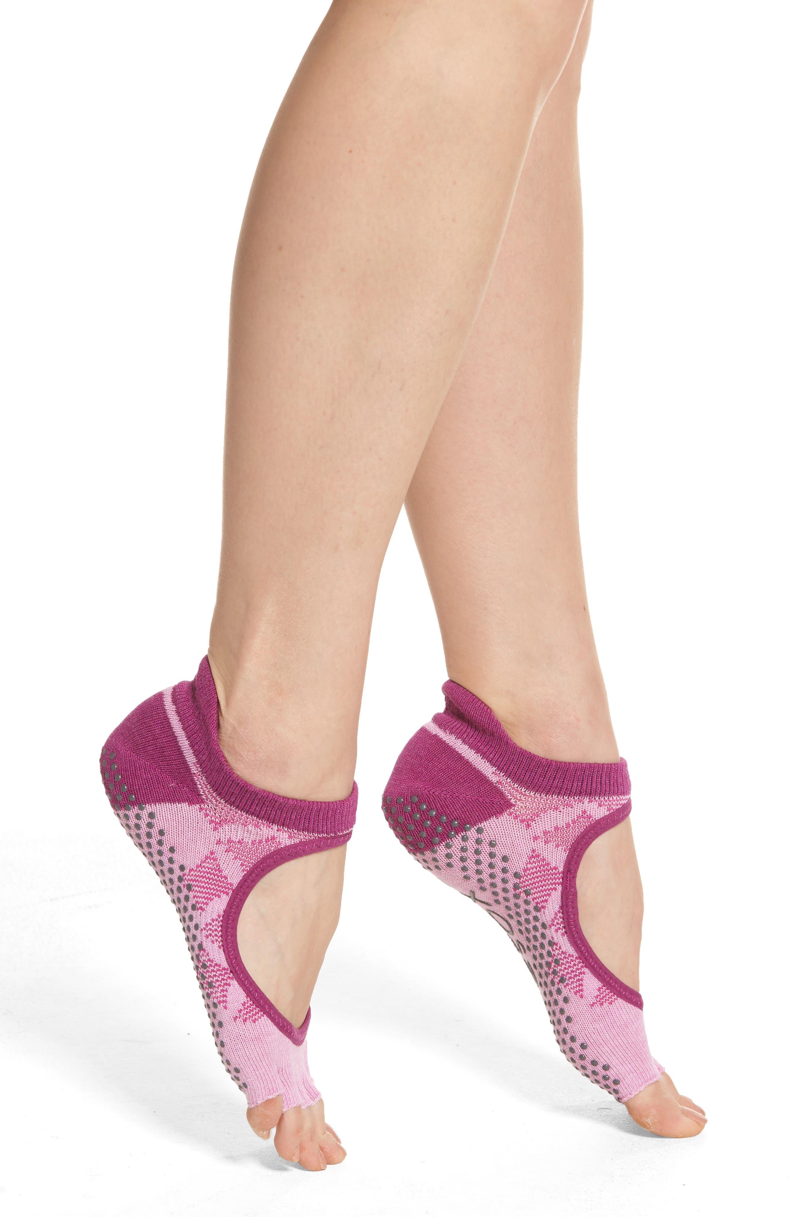 ToeSox Bellarina Half Toe Gripper Socks