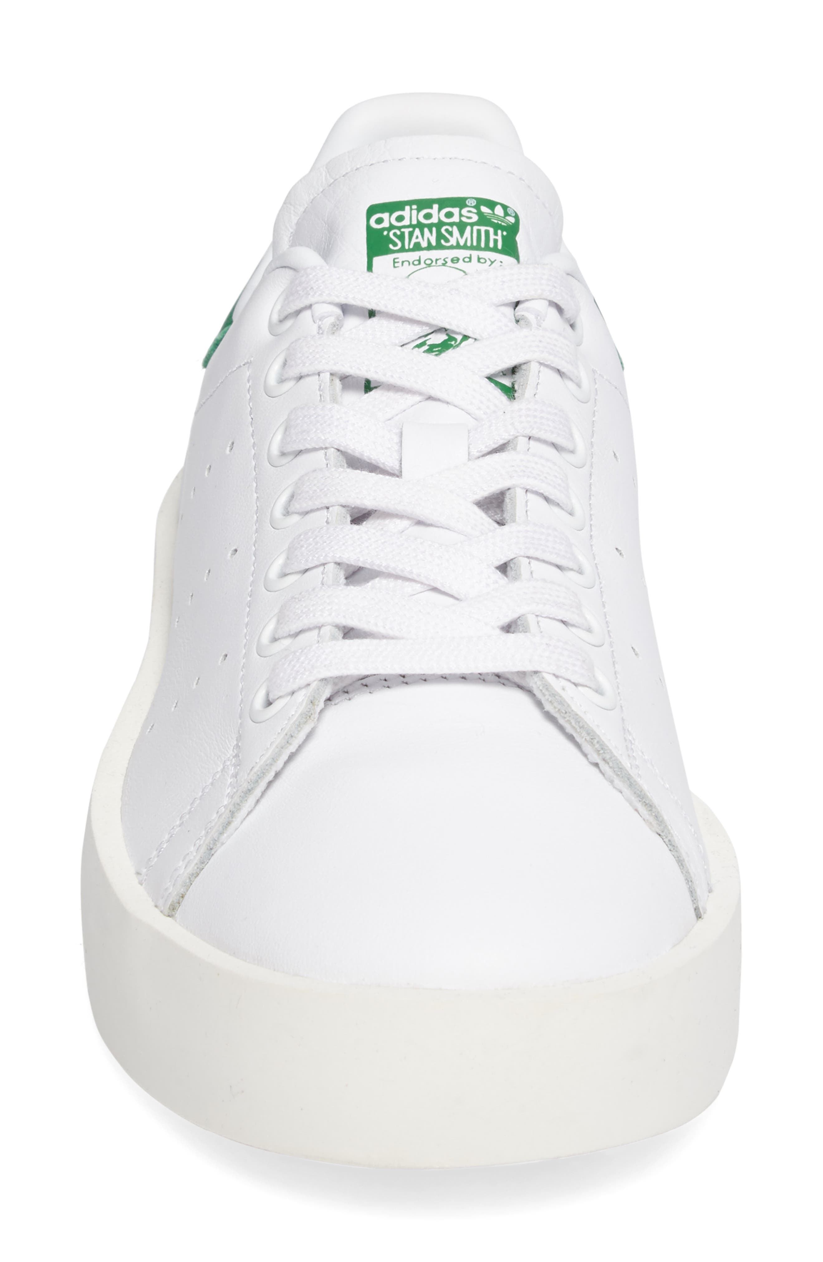 Alternate Image 4  - adidas Stan Smith Bold Platform Sneaker (Women)