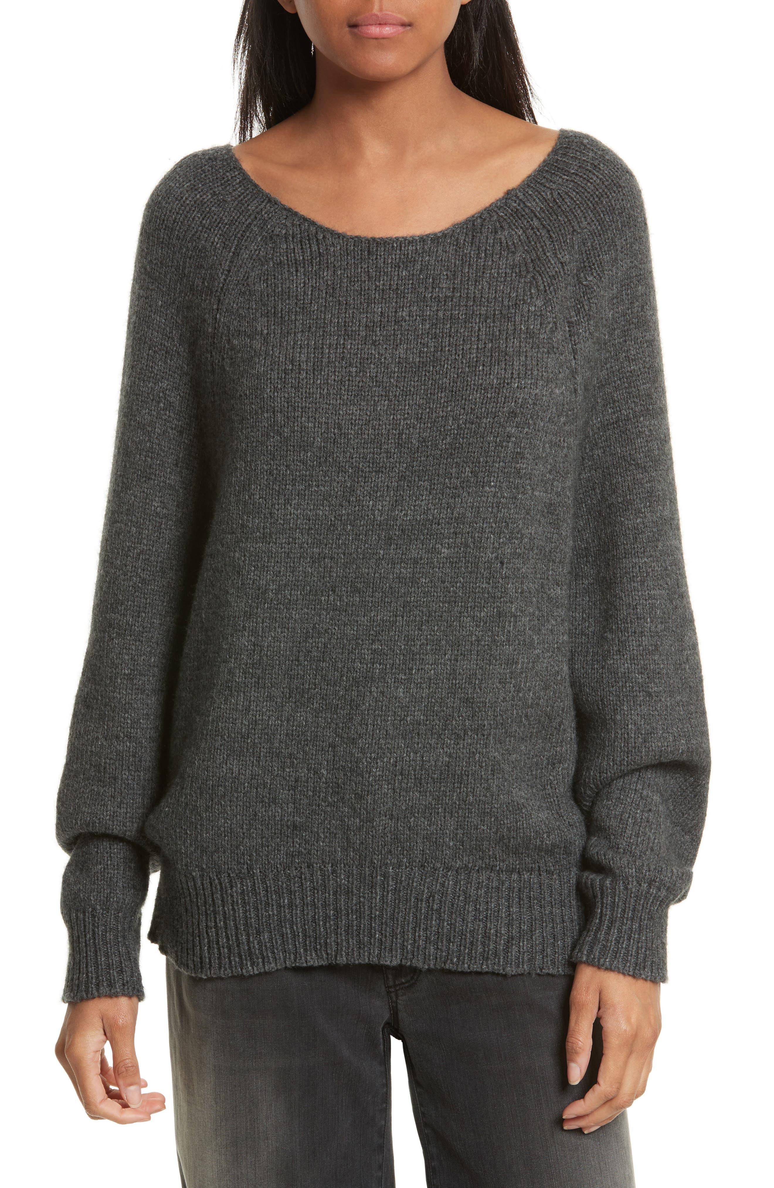 Nili Lotan Casper Merino Wool Blend Sweater