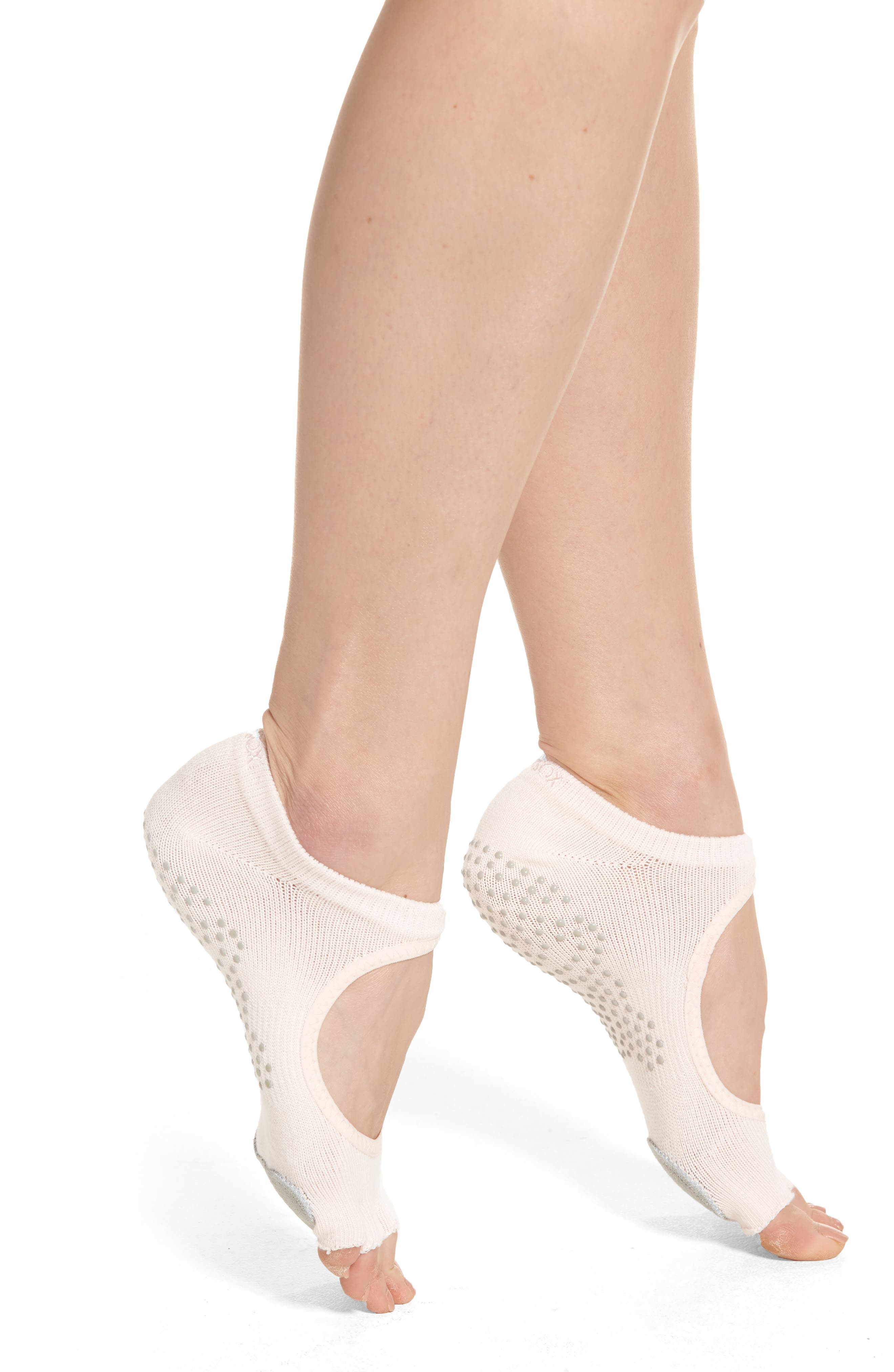 ToeSox 'Dance Plié' Half-Toe Gripper Socks