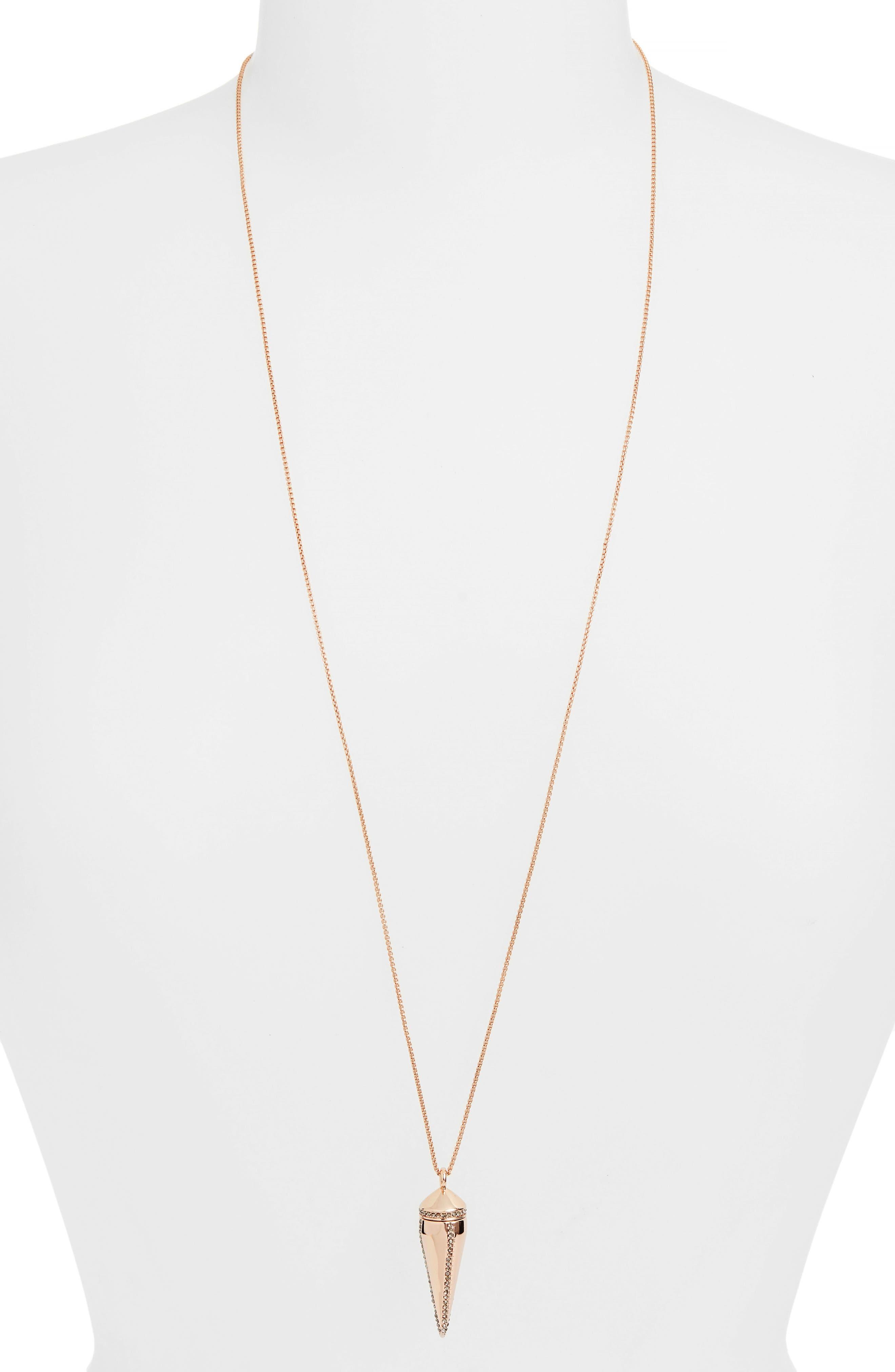 Rebecca Minkoff Spike Pendant Necklace