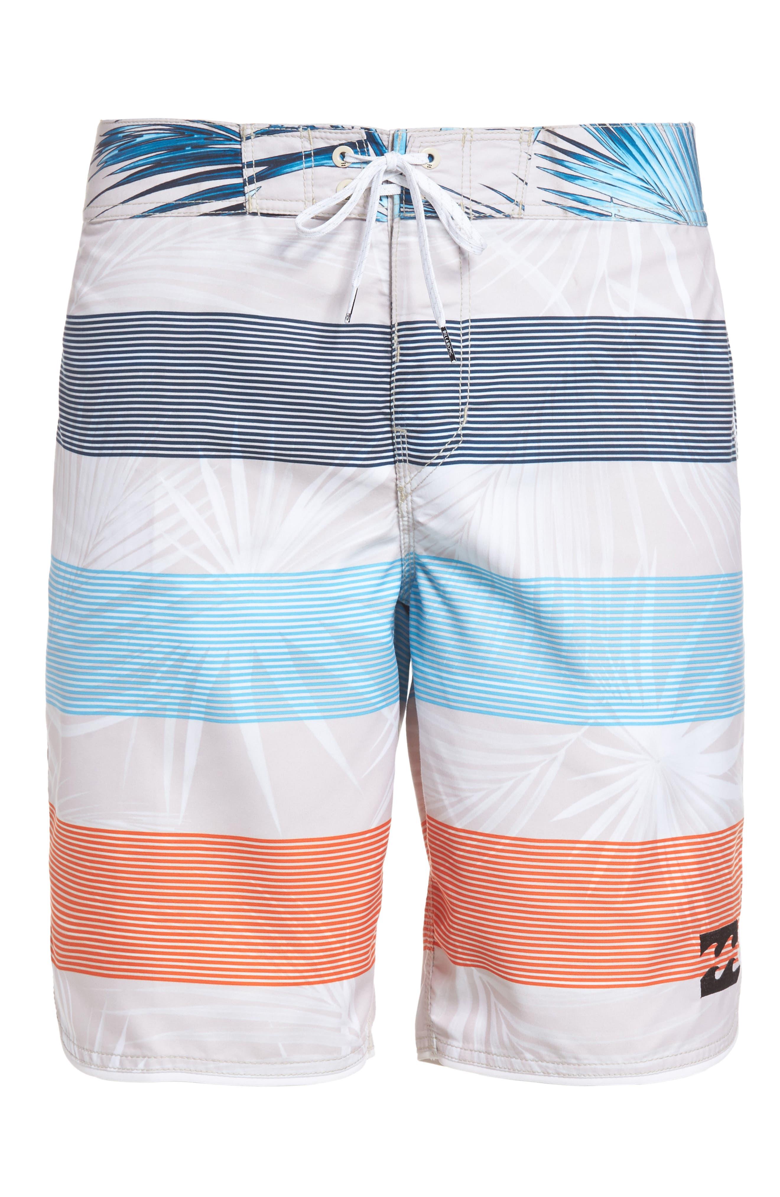 73 OG Stripe Board Shorts,                             Alternate thumbnail 6, color,                             Stone