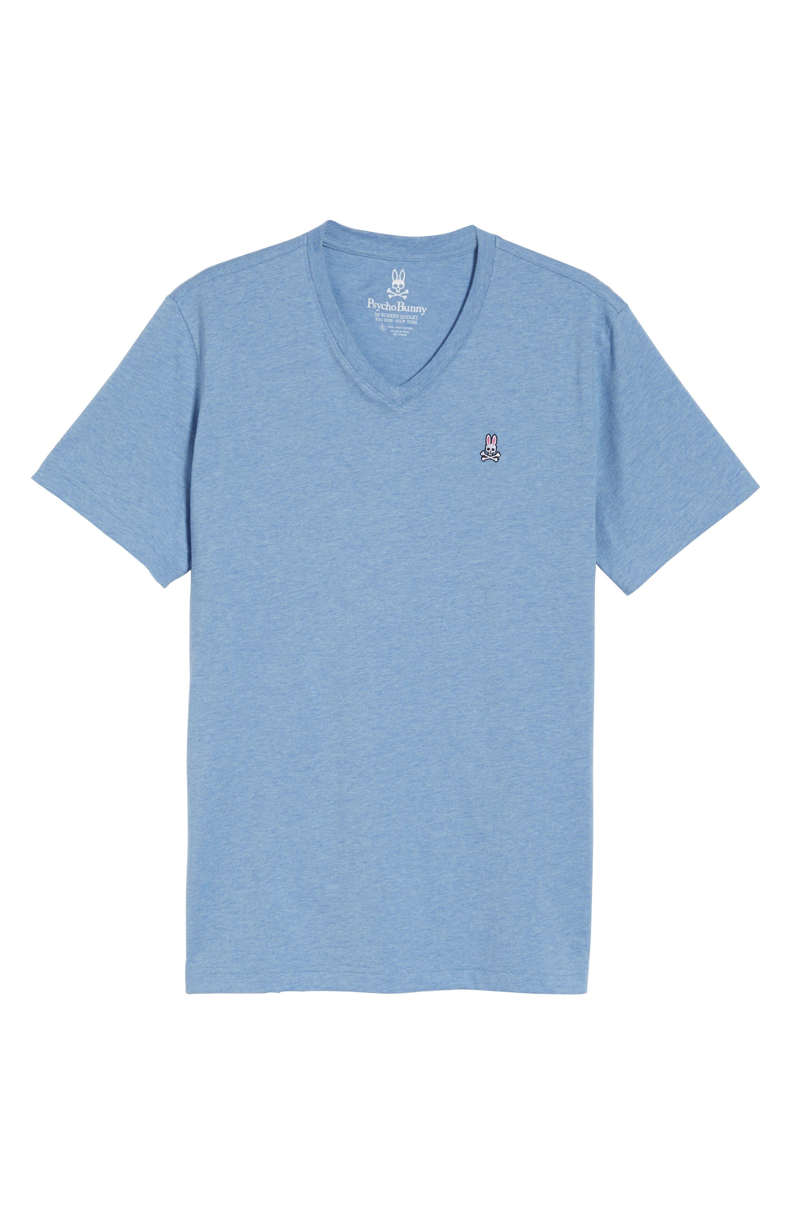 Alternate Image 6  - Psycho Bunny Classic V-Neck T-Shirt