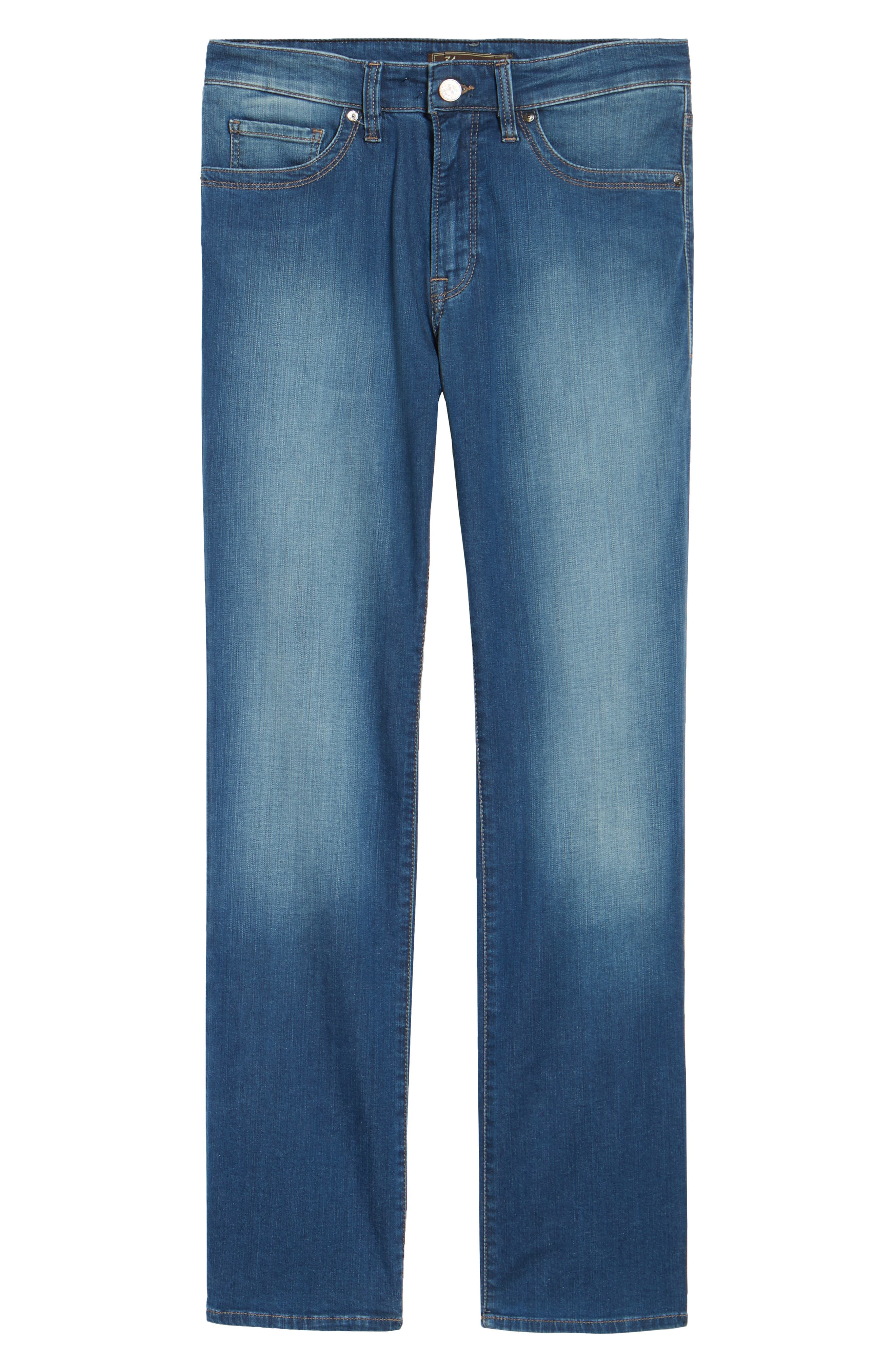 'Charisma' Classic Relaxed Fit Jeans,                             Alternate thumbnail 6, color,                             Mid Cashmere