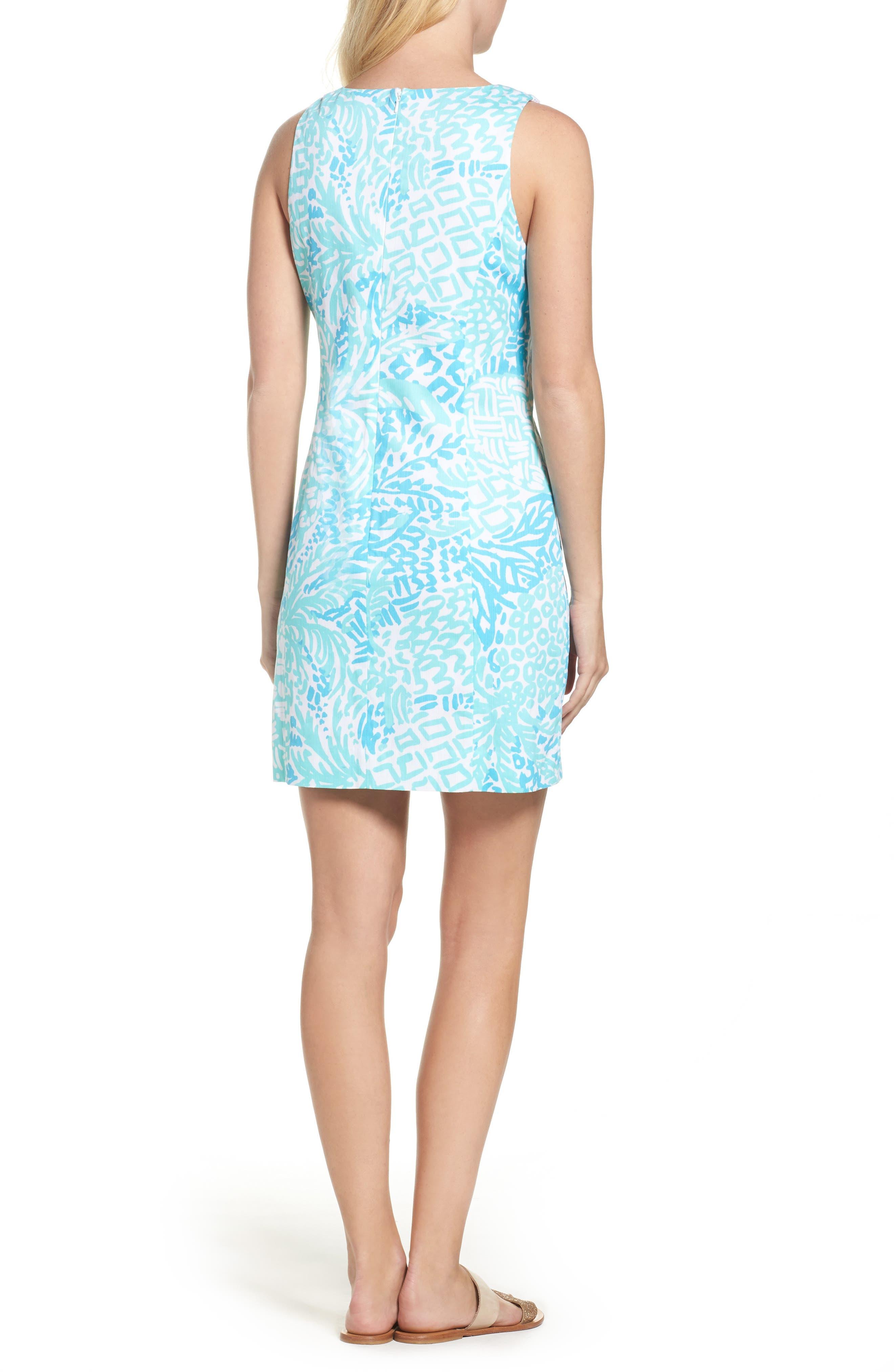 McFarlane Sheath dress,                             Alternate thumbnail 2, color,                             Seaside Aqua Home Slice