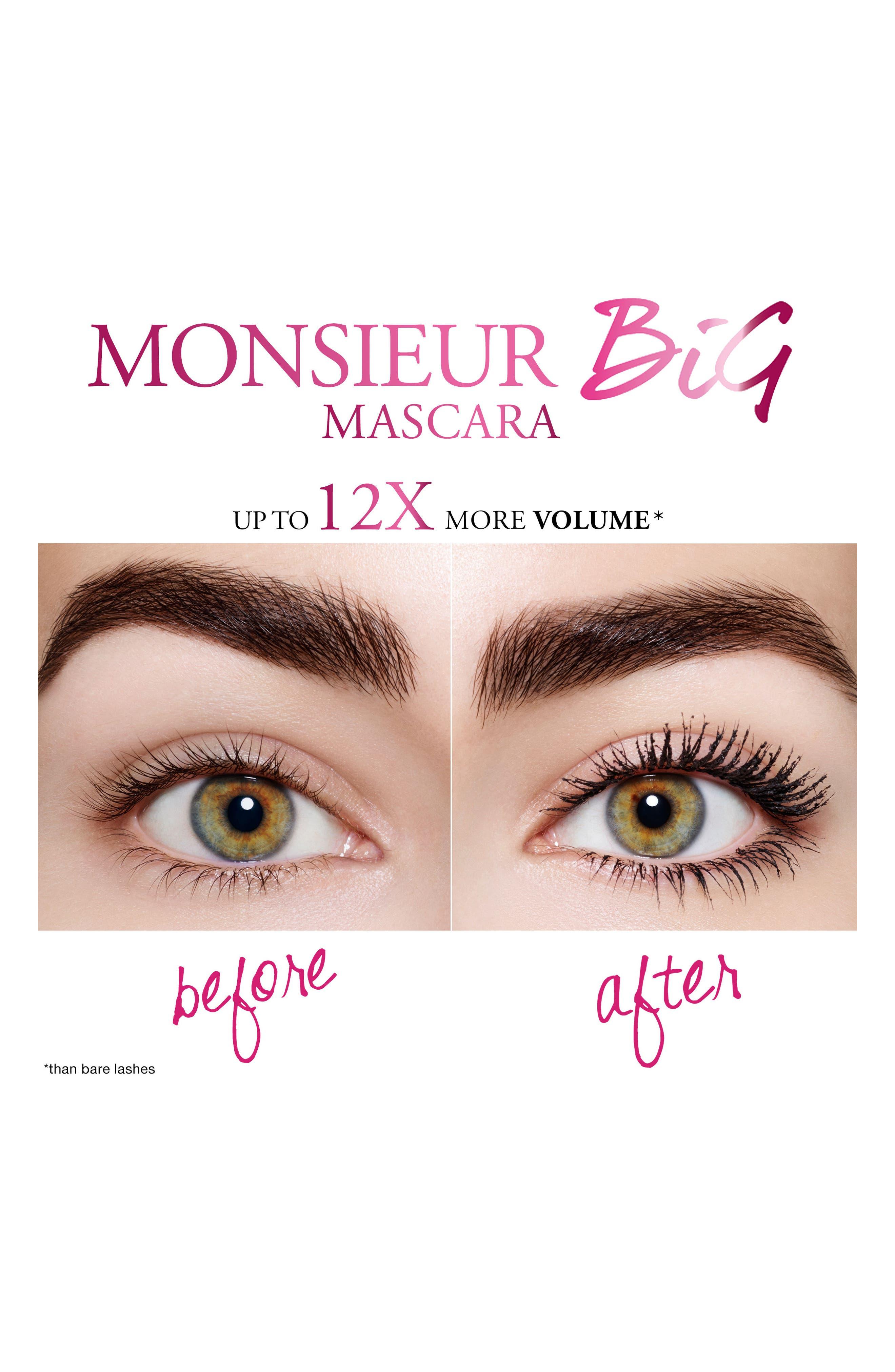 Monsieur Big Mascara Mini,                             Alternate thumbnail 2, color,                             No Color