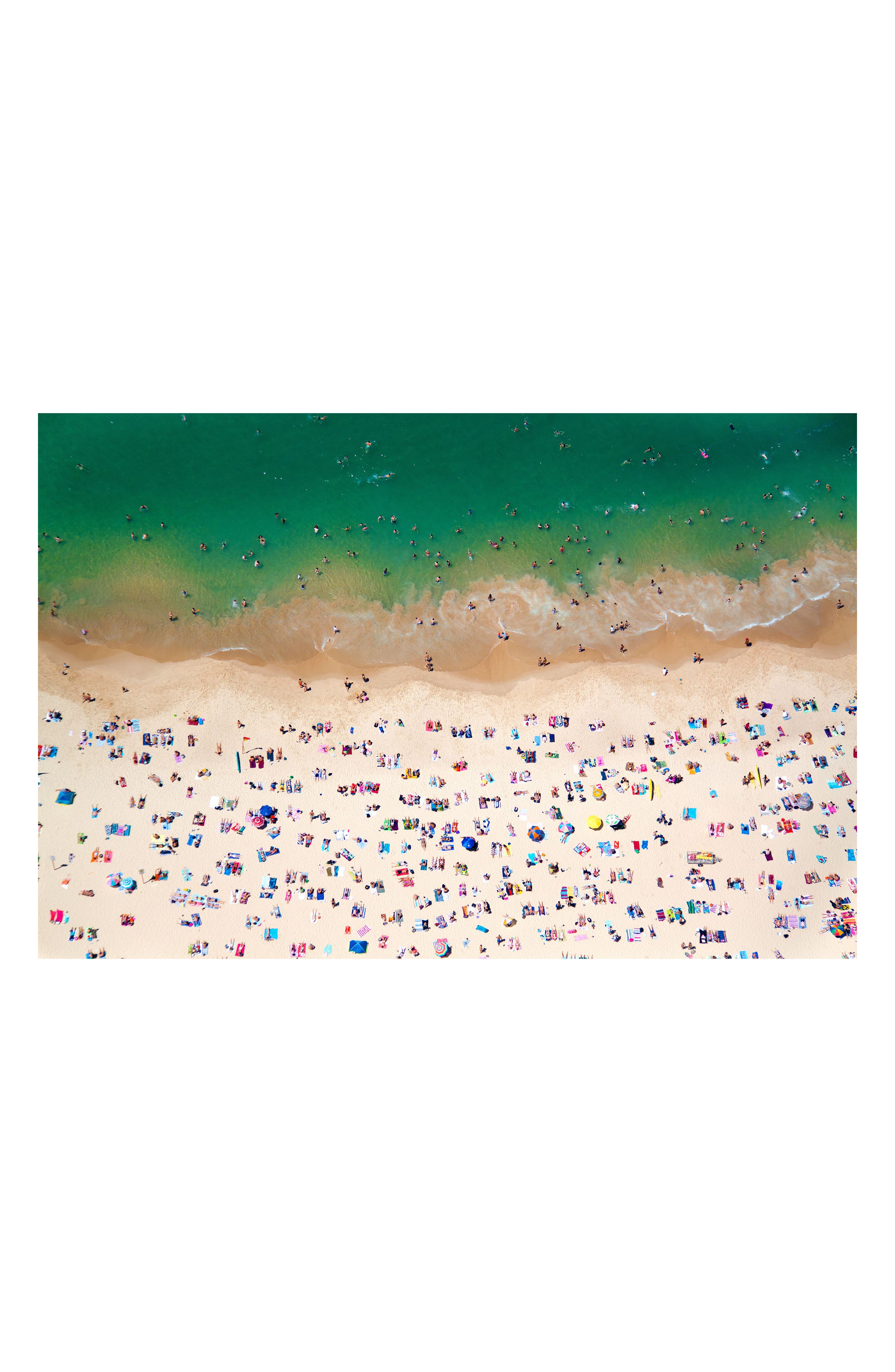 Alternate Image 1 Selected - Gray Malin Coogee Beach Art Print