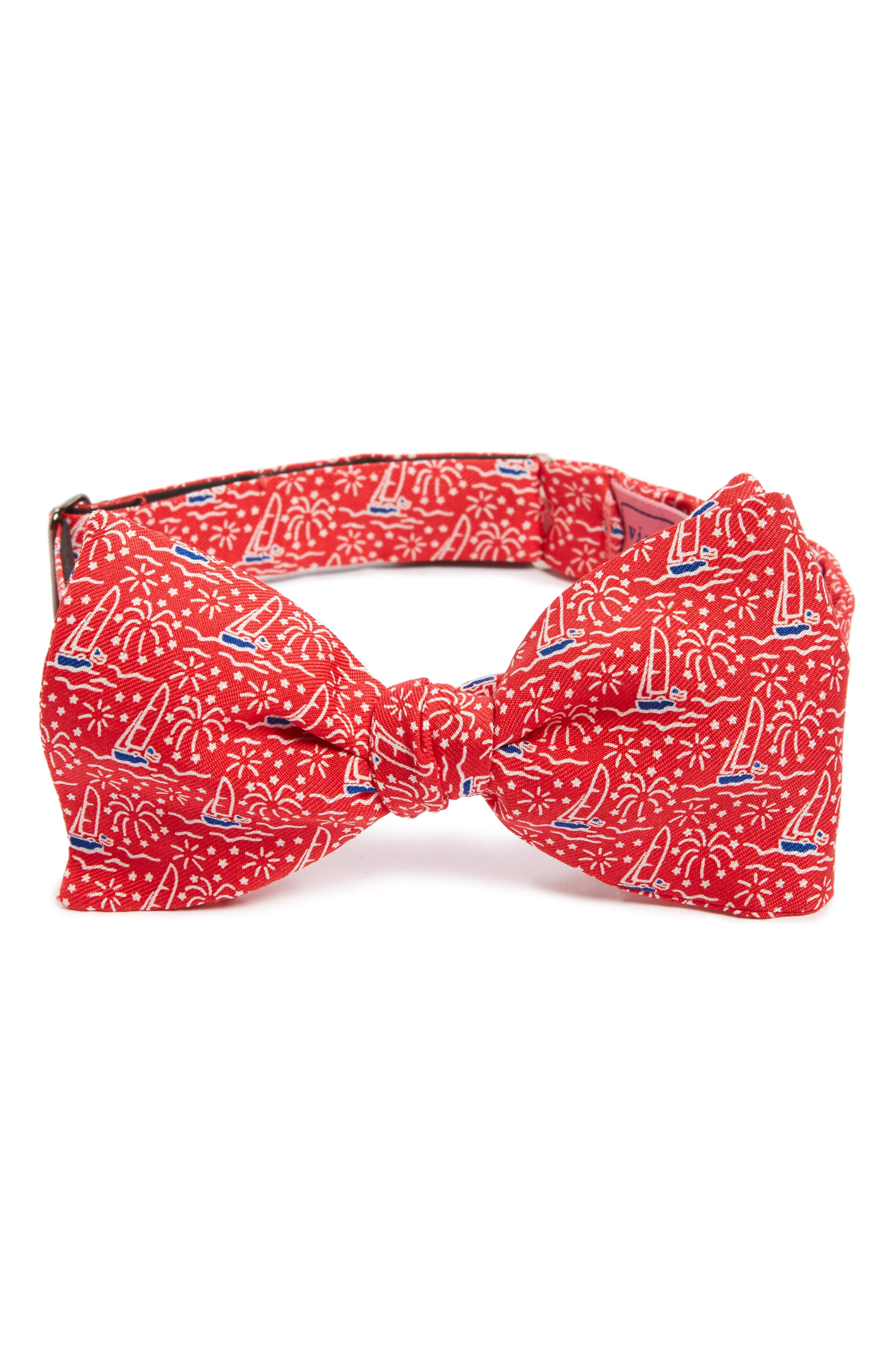Sailing Bow Tie,                         Main,                         color, Red
