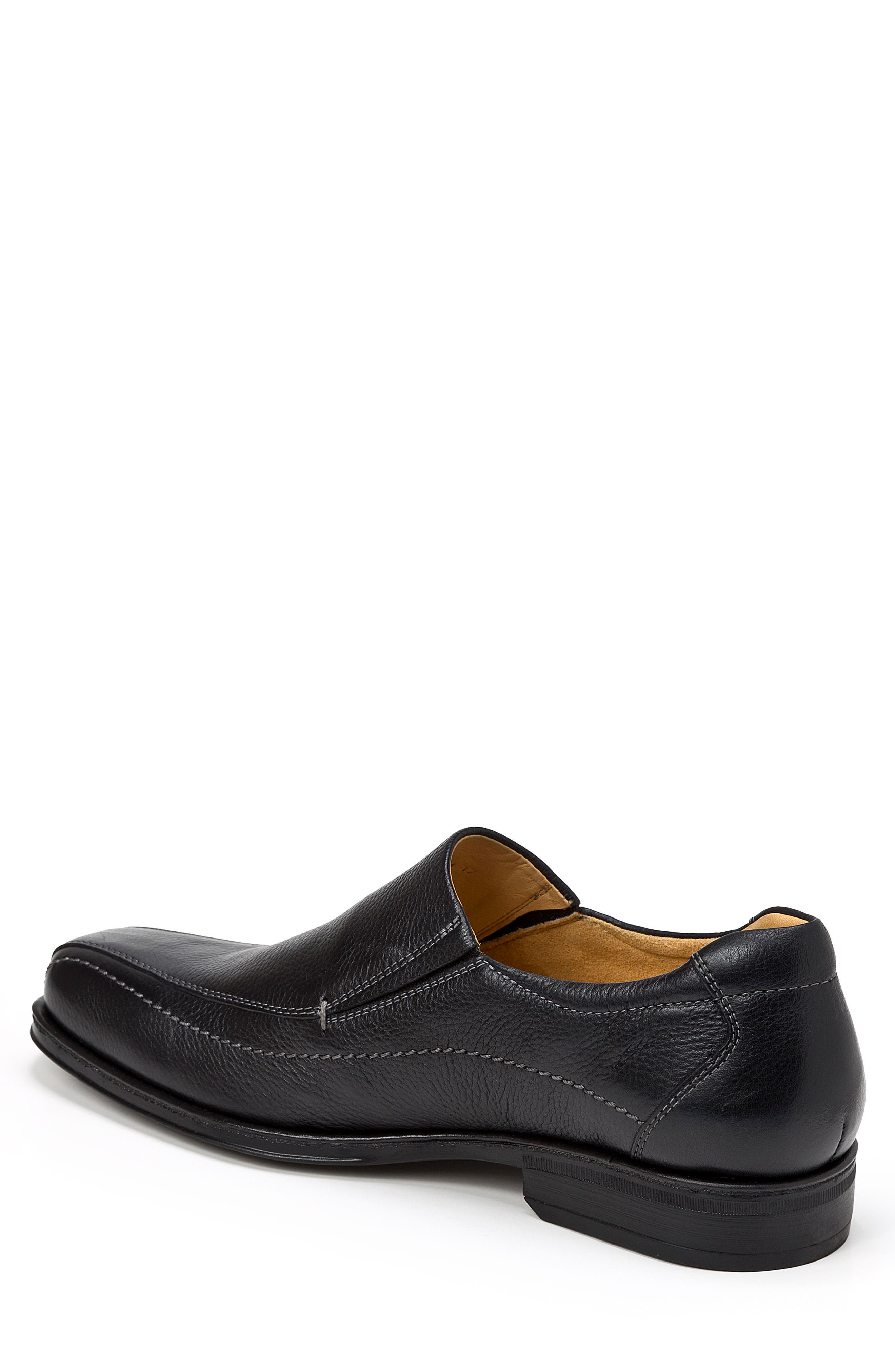 Elgin Venetian Loafer,                             Alternate thumbnail 2, color,                             Black